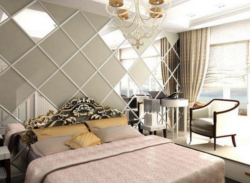 Recent 8 Design For Bedroom Wall Mirrors Decorative (View 5 of 20)