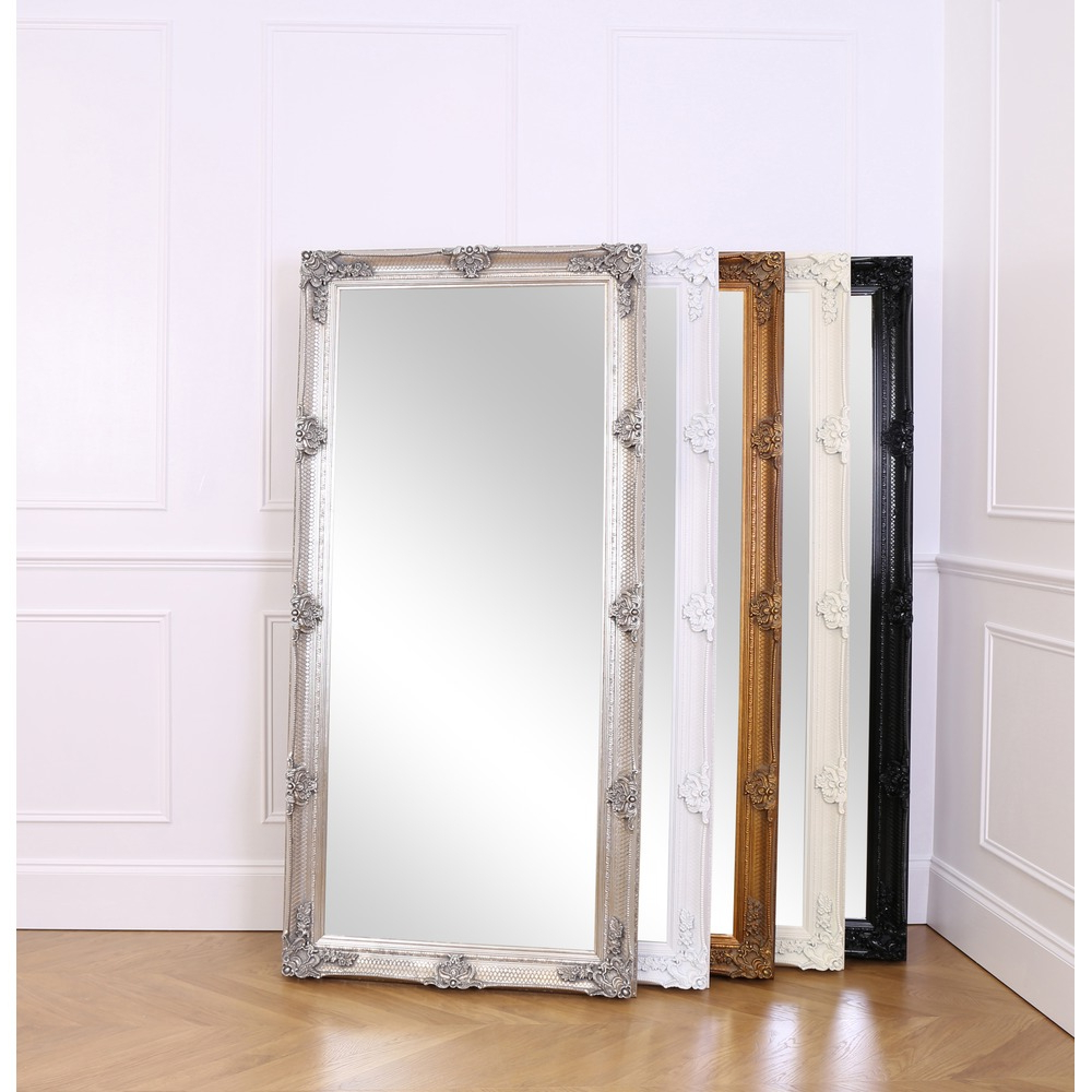 Recent Abbey Leaner Mirror – Silver Leaf For Leaning Mirrors (View 12 of 20)
