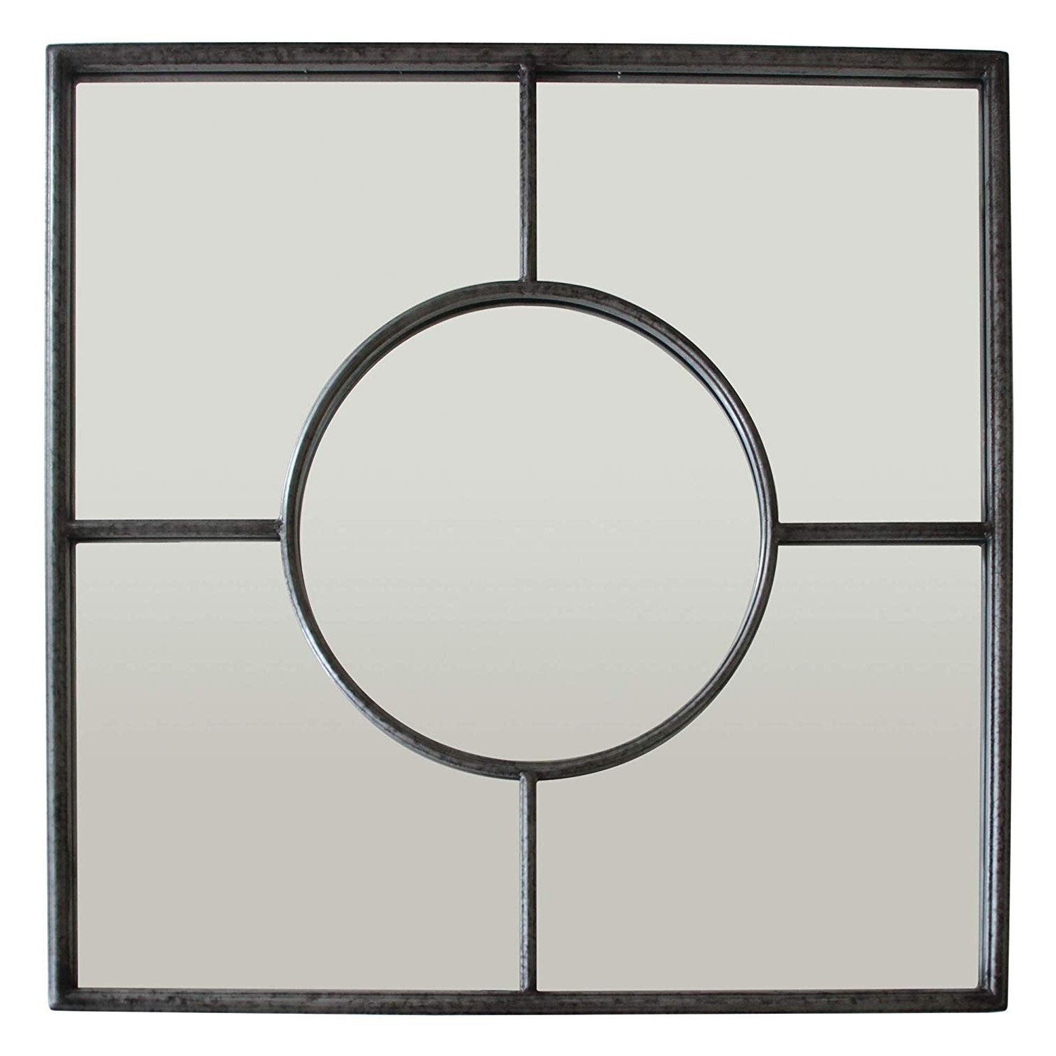 Recent Amazon: Three Hands 23339 Metal Wall Mirror Decoration Within Three Way Wall Mirrors (View 10 of 20)