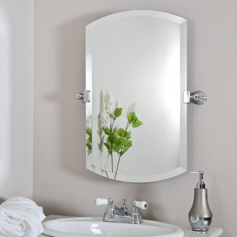Recent Brilliant Bathroom Vanity Mirrors Decoration Modern Pivoting Throughout Pivoting Wall Mirror (View 15 of 20)