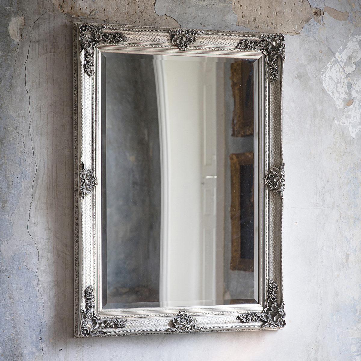 Featured Photo of Antique Silver Wall Mirrors