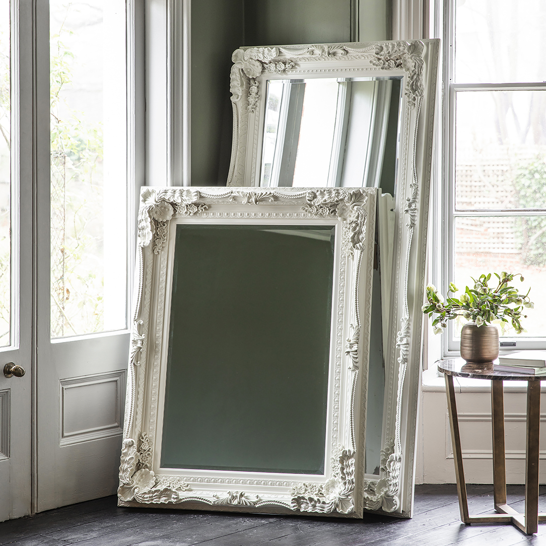 Recent Decorative Full Length Wall Mirrors With Regard To Decorative Cream Full Length Mirror (View 14 of 20)