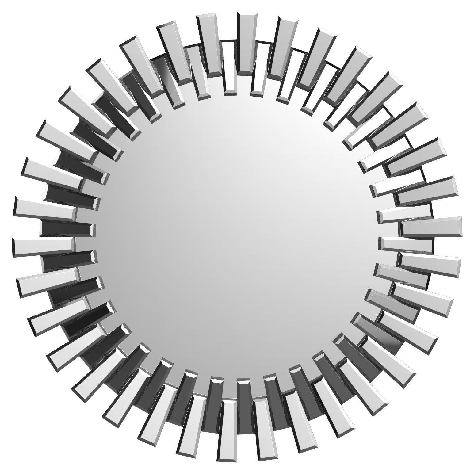 Recent Deniece Sunburst Round Wall Mirror Wrlo (View 14 of 20)