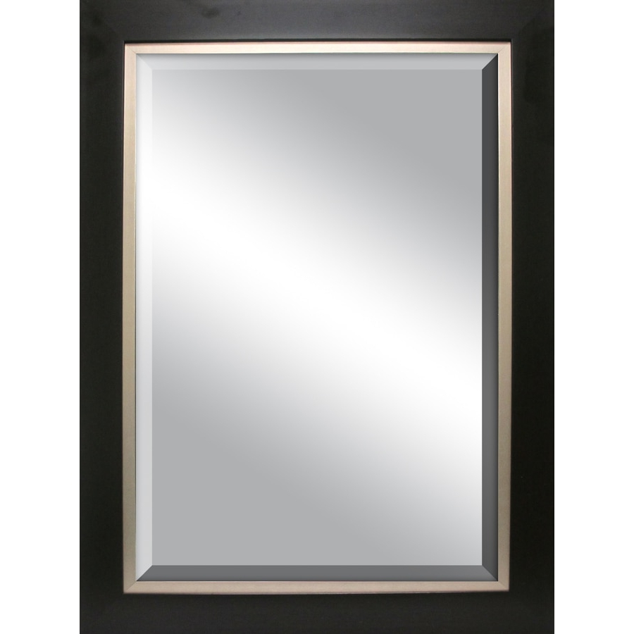 Recent Espresso Wall Mirrors For Allen + Roth Espresso Wall Mirror At Lowes (View 7 of 20)