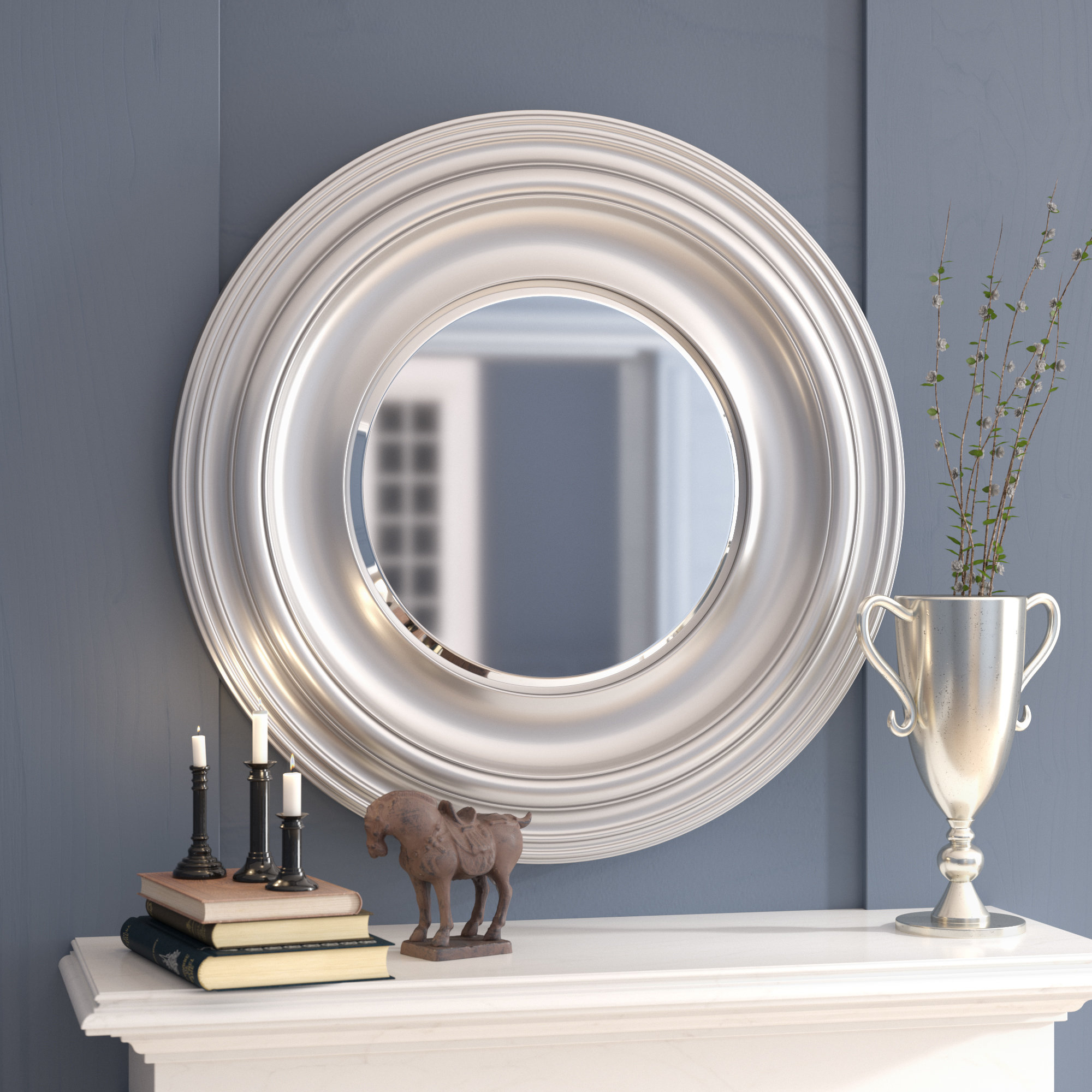 Recent Giuditta Modern & Contemporary Accent Mirror With Regard To Owens Accent Mirrors (Gallery 8 of 20)