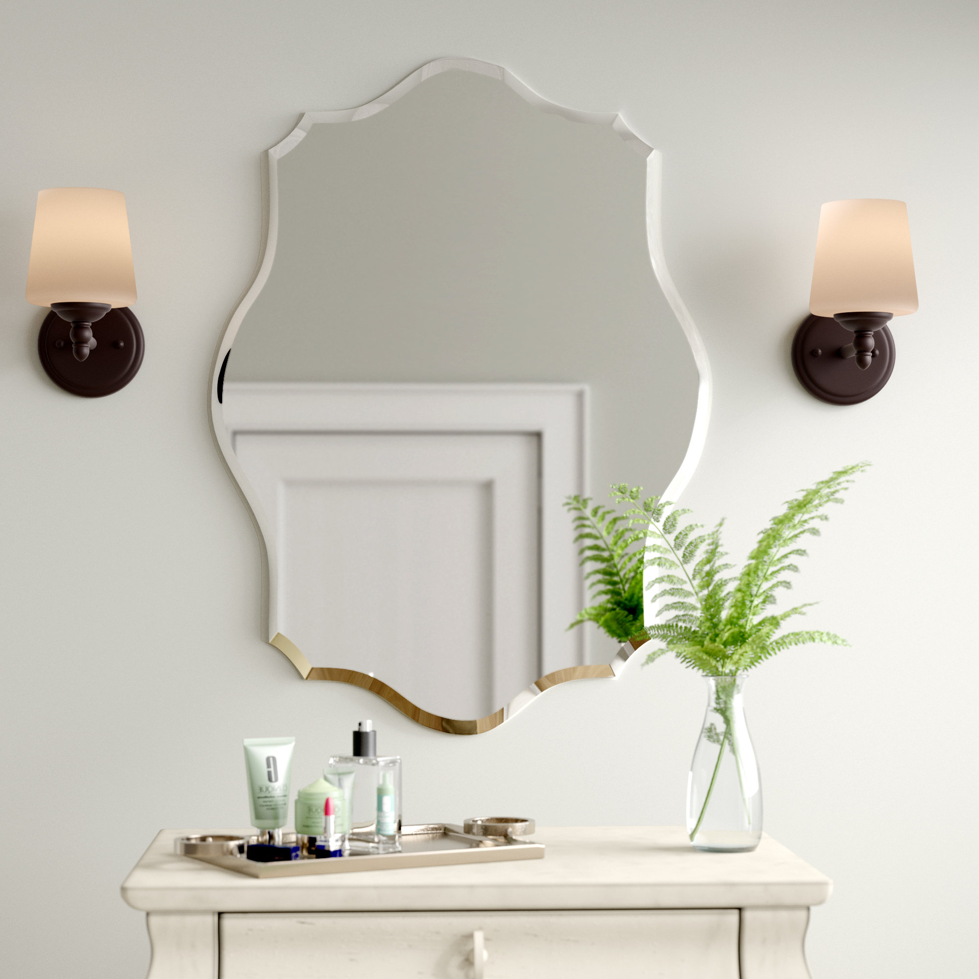 Recent Guidinha Modern & Contemporary Accent Mirrors With Birch Lane™ Heritage Guidinha Modern & Contemporary Accent Mirror (View 2 of 20)