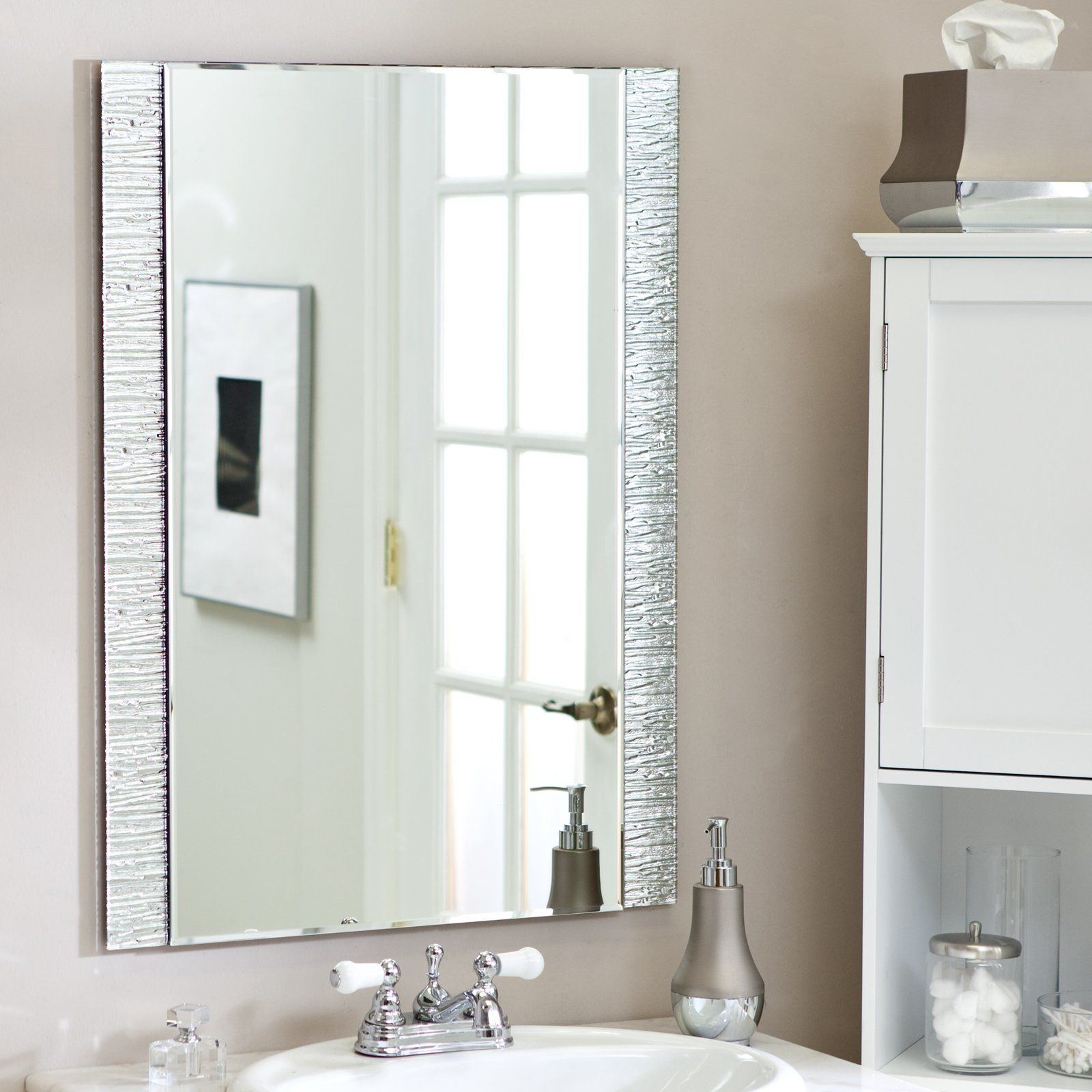Recent Have To Have It. Frameless Molten Wall Mirror – 23.5W X  (View 18 of 20)