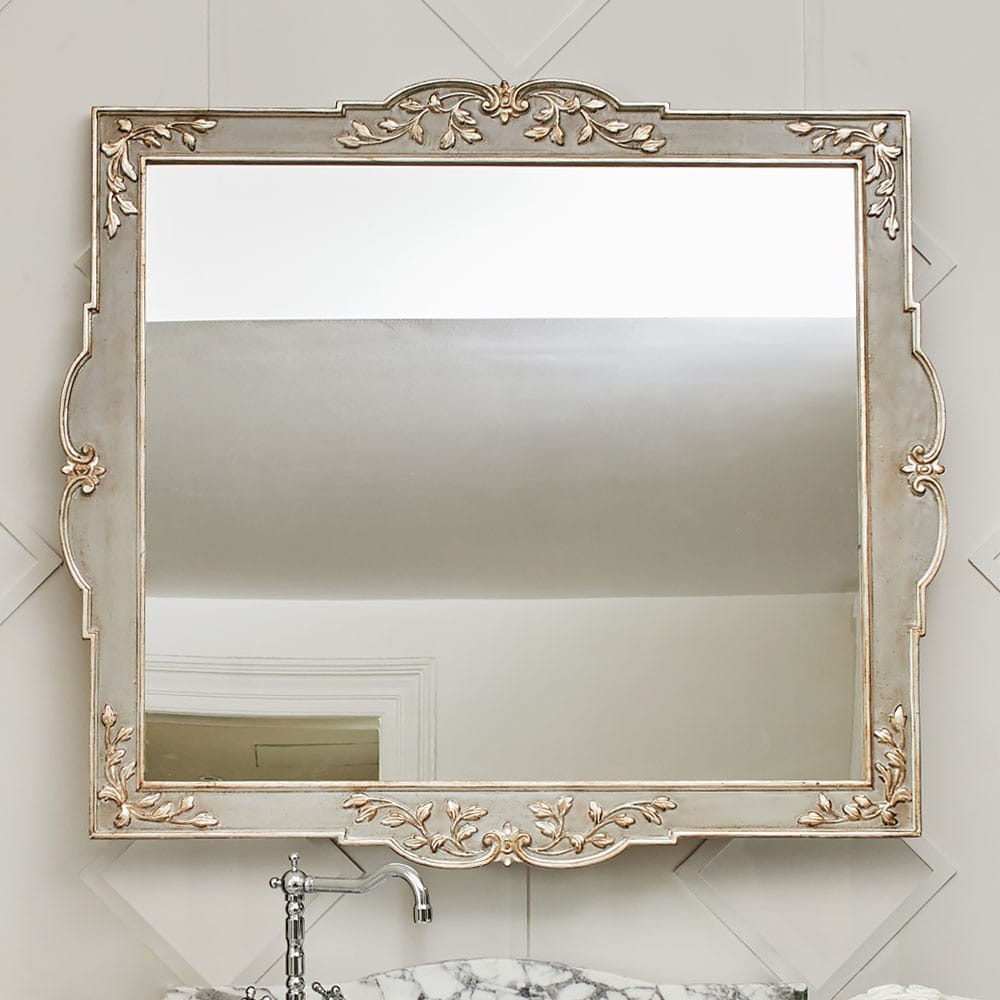 Recent High End Wall Mirrors In High End Louis Xvi Inspired Designer Wall Mirror (View 5 of 20)
