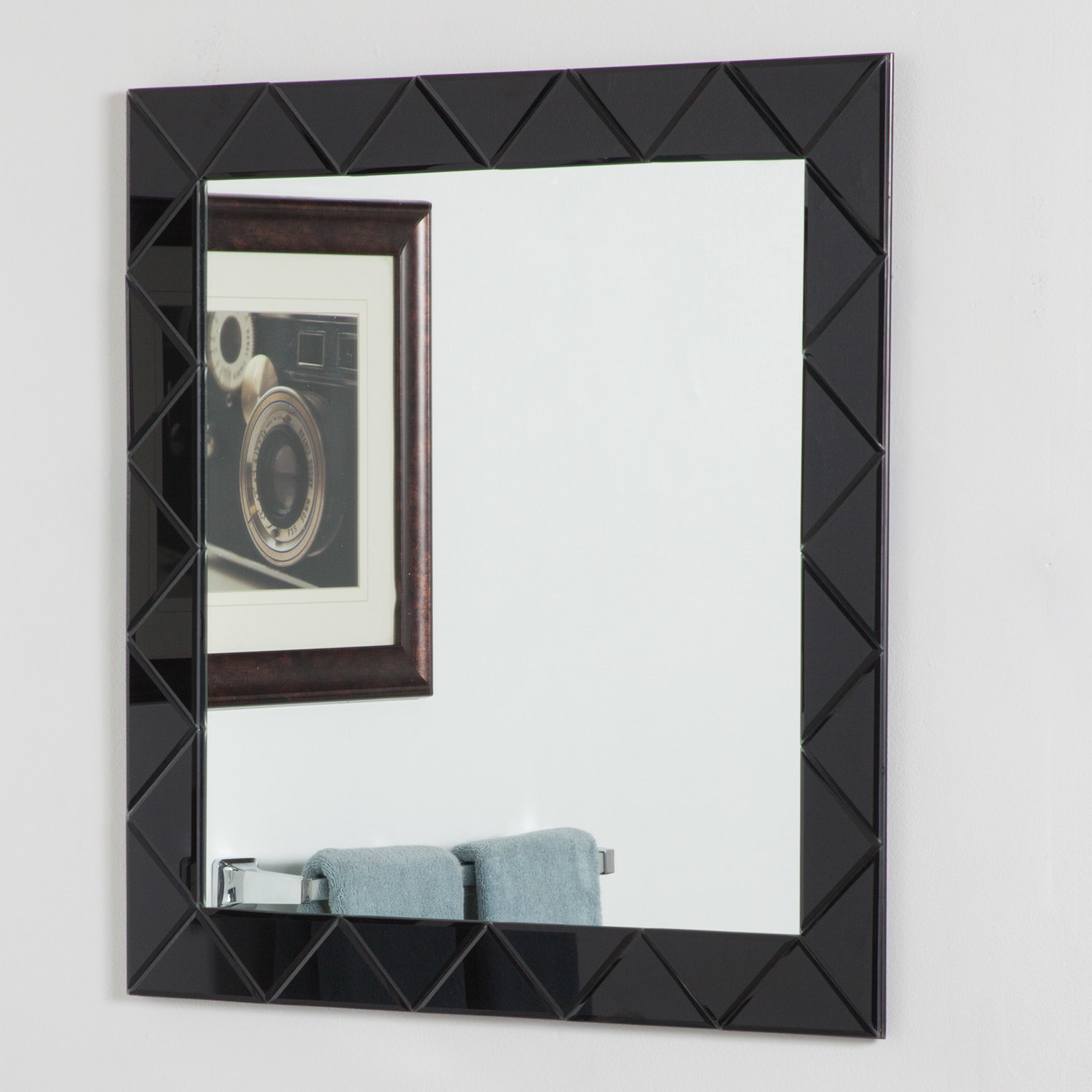 Recent Infinity Frameless Wall Mirrors Pertaining To Luciano Frameless Wall Mirror (Gallery 16 of 20)