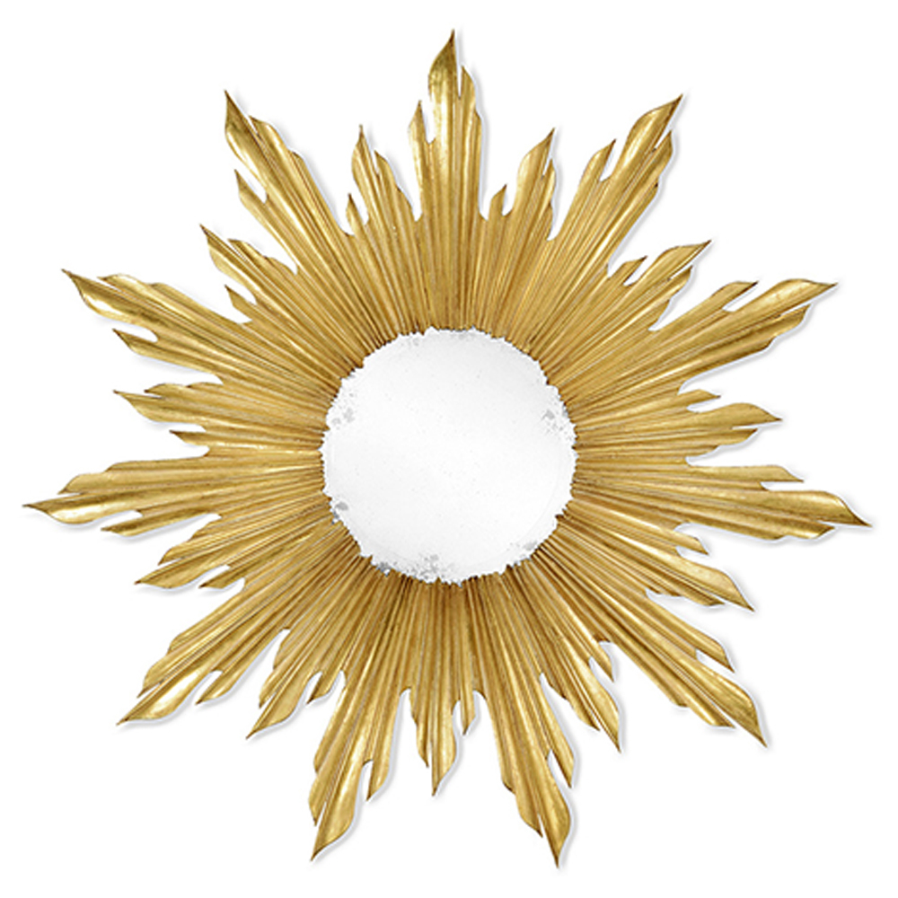 Recent Jonathan Charles Wall Decor Small Gilded Sunburst Mirror Regarding Small Gold Wall Mirrors (Gallery 12 of 20)