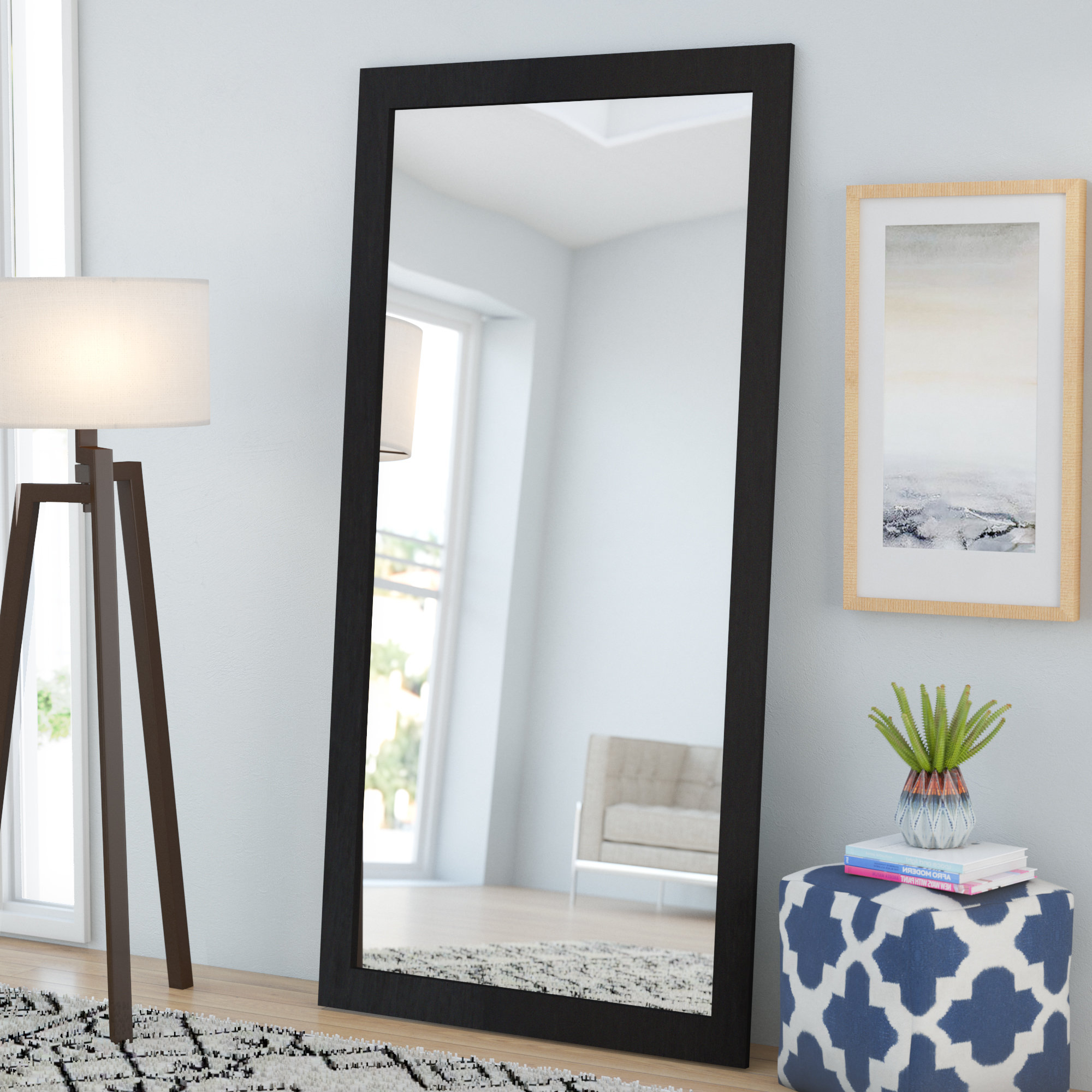 Featured Photo of Leaning Wall Mirrors