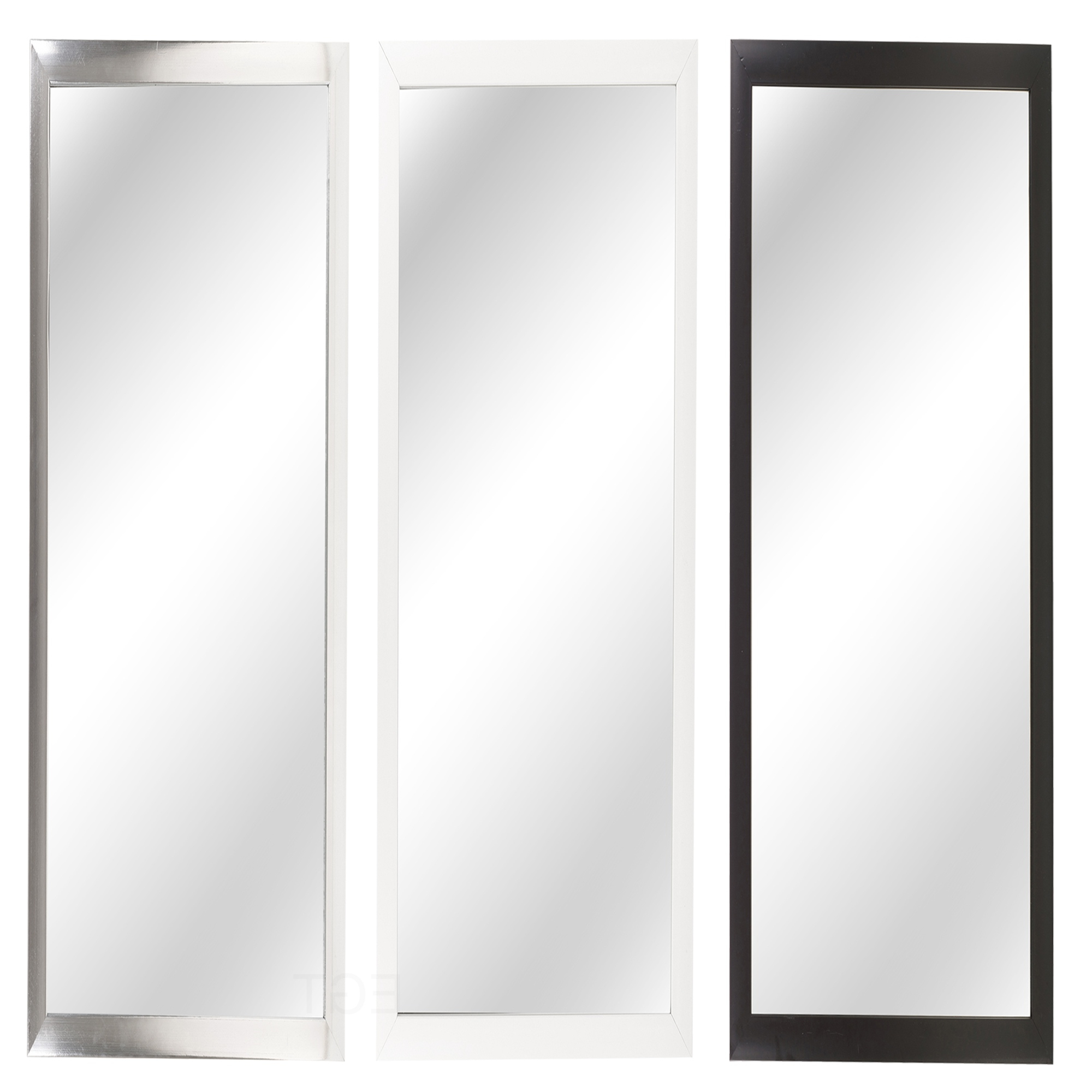 Recent Long Black Wall Mirrors Pertaining To Details About Large Long Wall Mirror Leaner Full Length Floor Bedroom  Furniture Hanging Dress (View 16 of 20)