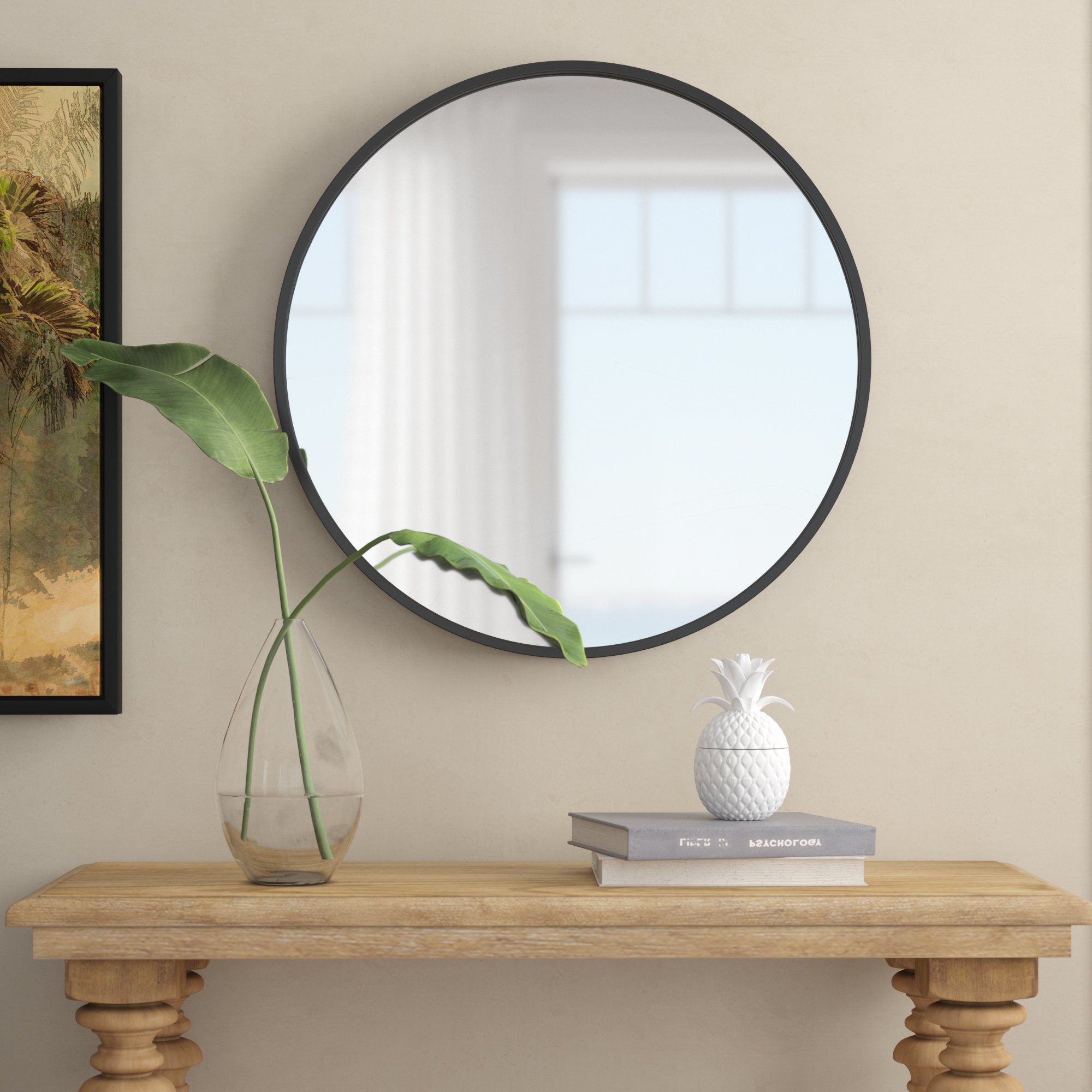 """Recent Luna Accent Mirrors Intended For Carmelita 30"""" Round Wall Mirror (Gallery 17 of 20)"""