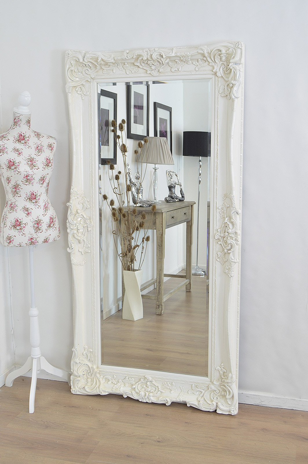 Recent Shabby Chic Large Wall Mirrors In Decorating: Fashionable Shabby Chic Mirror For Home Decor (View 20 of 20)