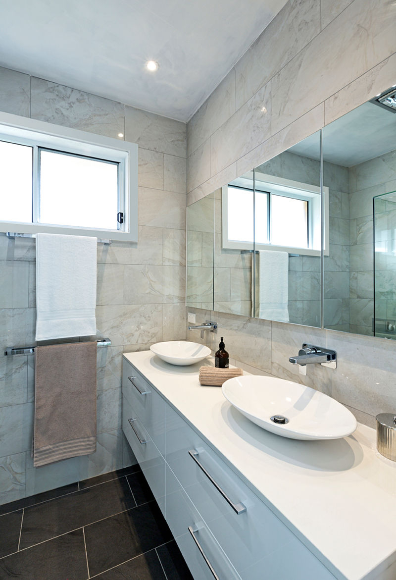 Recent Small Bathroom Wall Mirrors With Regard To 19 Tricks To Make A Small Bathroom Look Bigger – First (View 14 of 20)