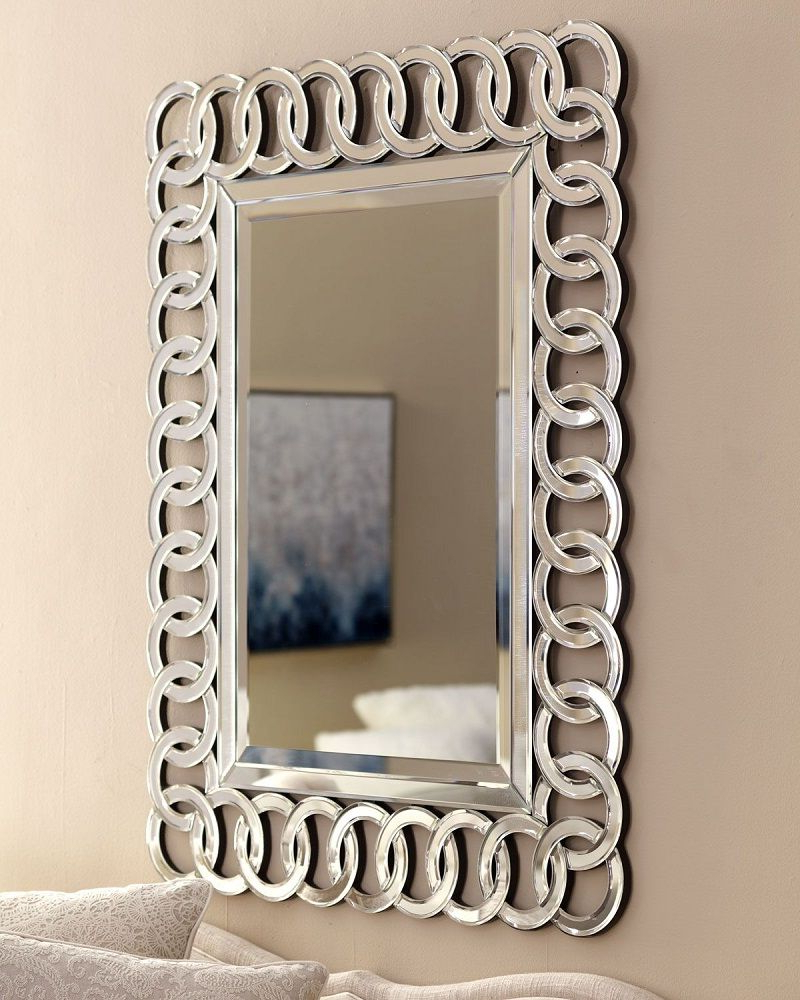Recent Stunning Wall Mirrors With Regard To New Modern Large 3D Wall Mirror Surroundedcontemporary (View 11 of 20)