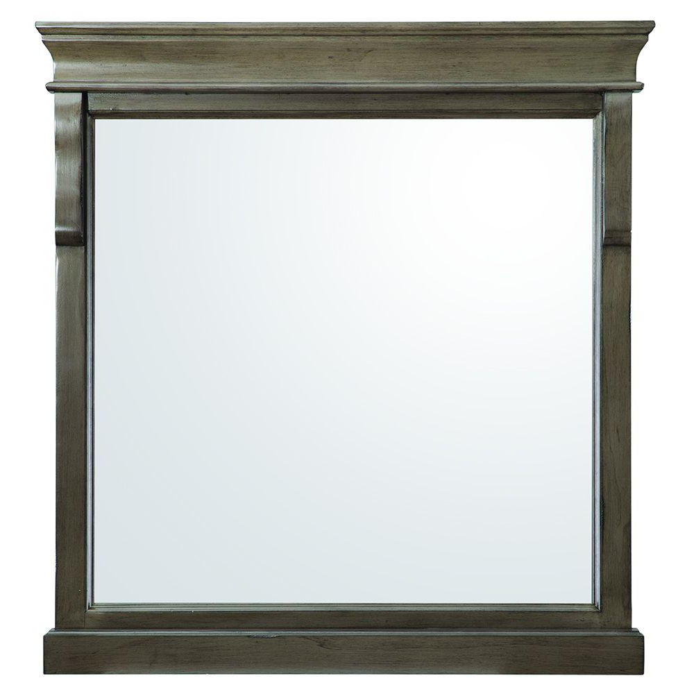 Recent Triple Oval Wall Mirrors In Naples 30 In. X 32 In (View 19 of 20)