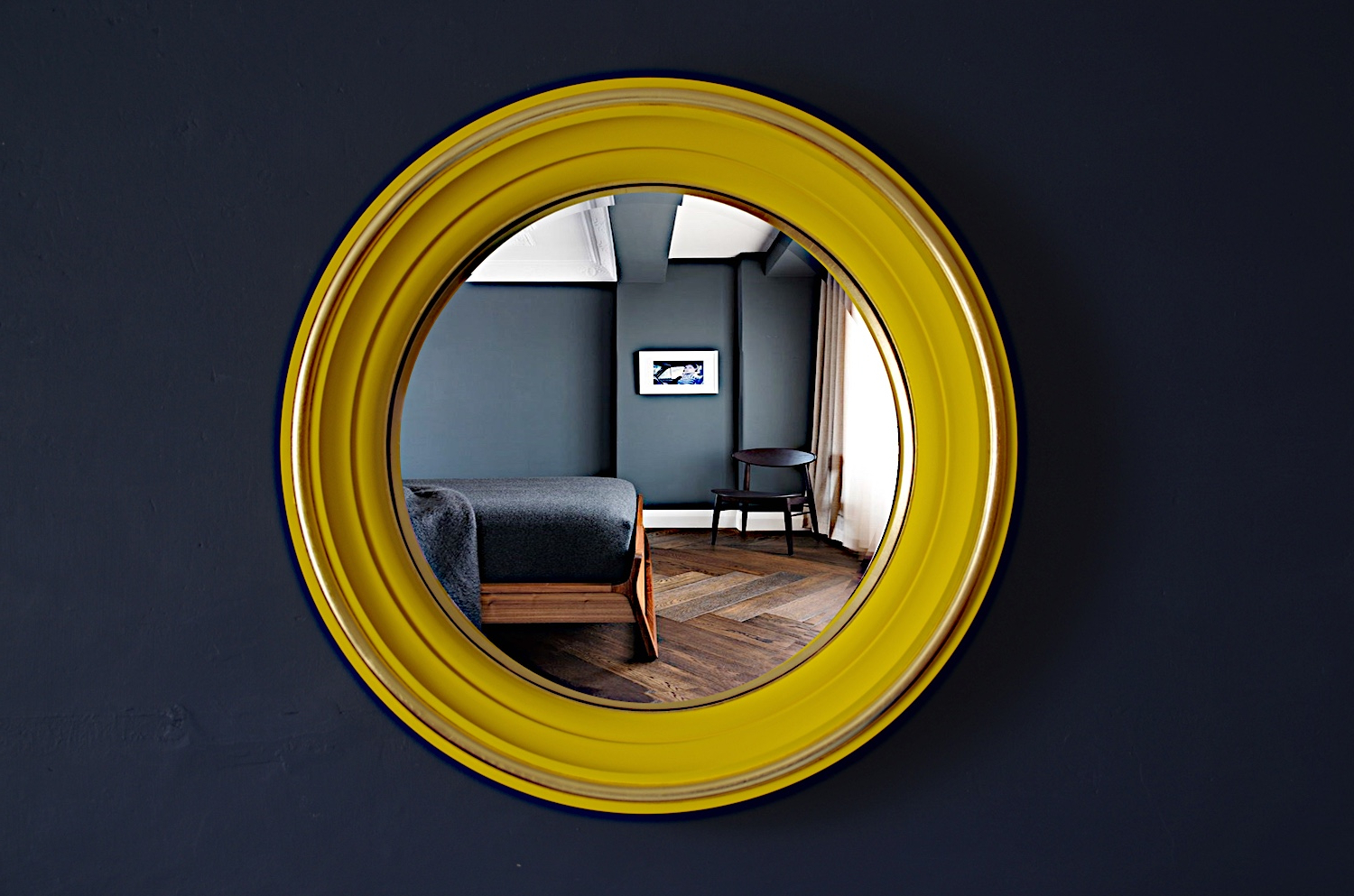 Recent Yellow Wall Mirrors For Let The Sunshine Into Your Home With A Yellow Wall Mirror (Gallery 1 of 20)