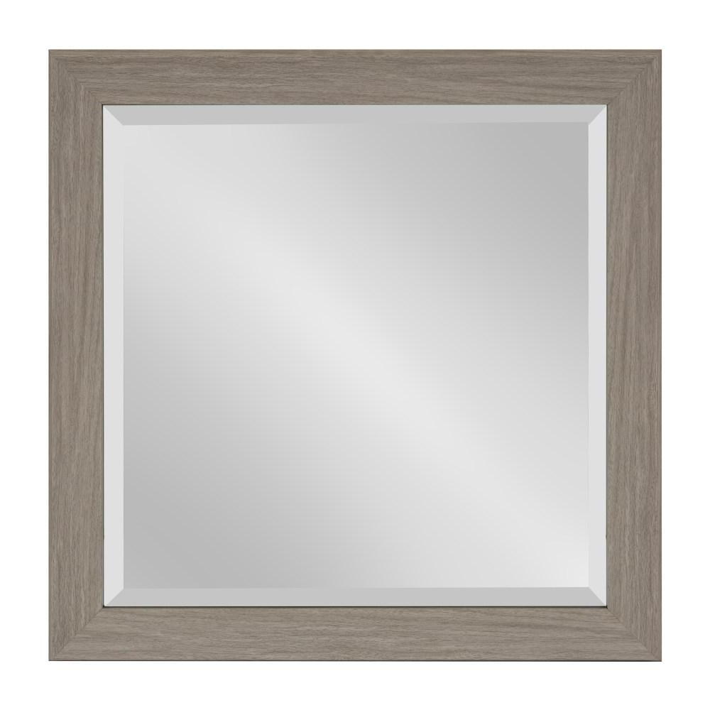 Rectangle Accent Mirrors Inside Famous Kate And Laurel Scoop Rectangle Gray Accent Mirror 214019 – The Home (View 14 of 20)