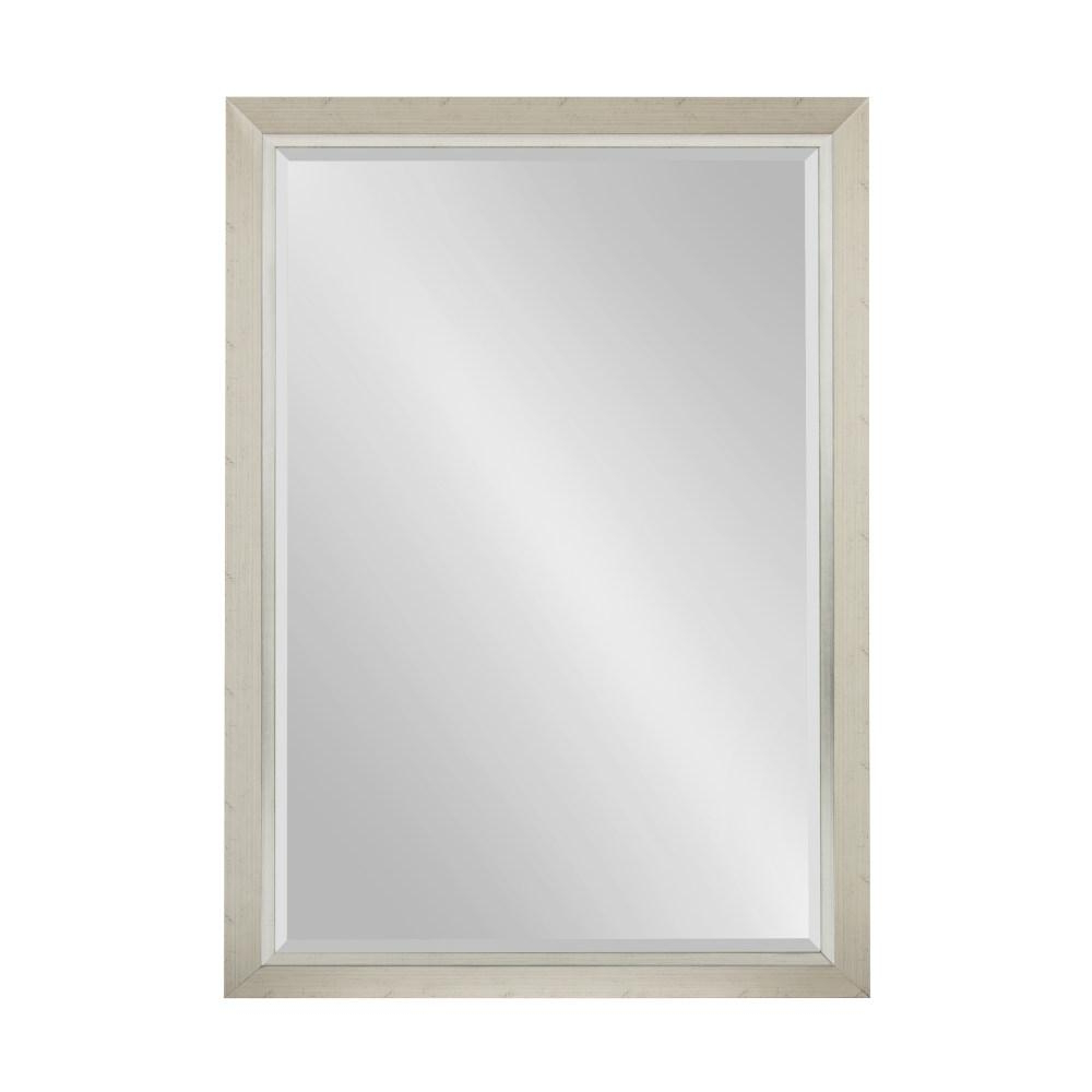 Rectangle Accent Mirrors Pertaining To Well Known Kate And Laurel Lohman Rectangle Silver Accent Mirror 212998 – The (View 20 of 20)