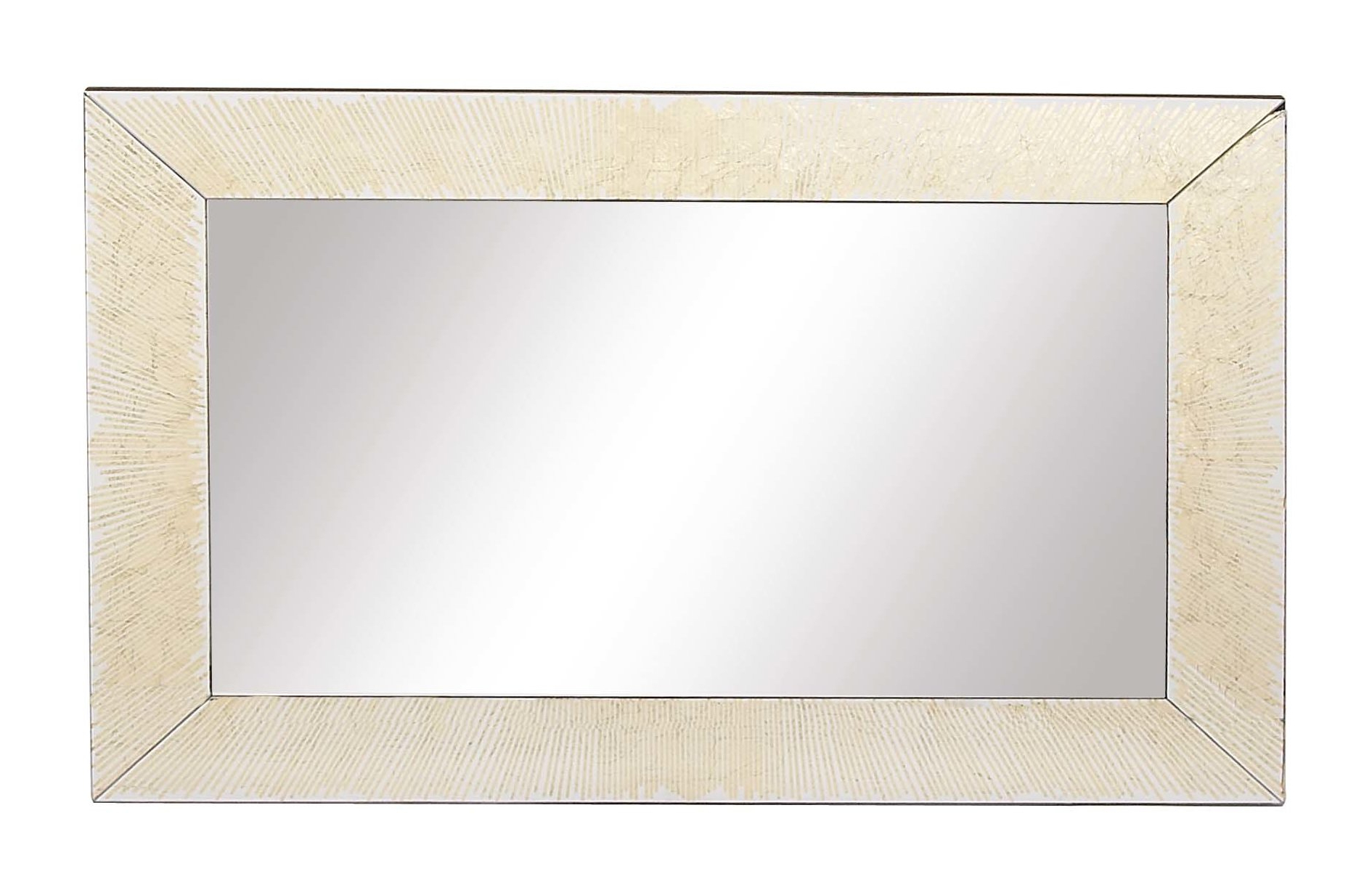 Rectangle Antique Galvanized Metal Accent Mirrors Within Preferred Gehrke Modern Rectangular Framed Accent Mirror (Gallery 8 of 20)