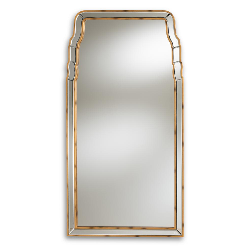 Rectangle Ornate Geometric Wall Mirrors Throughout Most Recently Released Alice Antique Gold Wall Mirror (View 10 of 20)