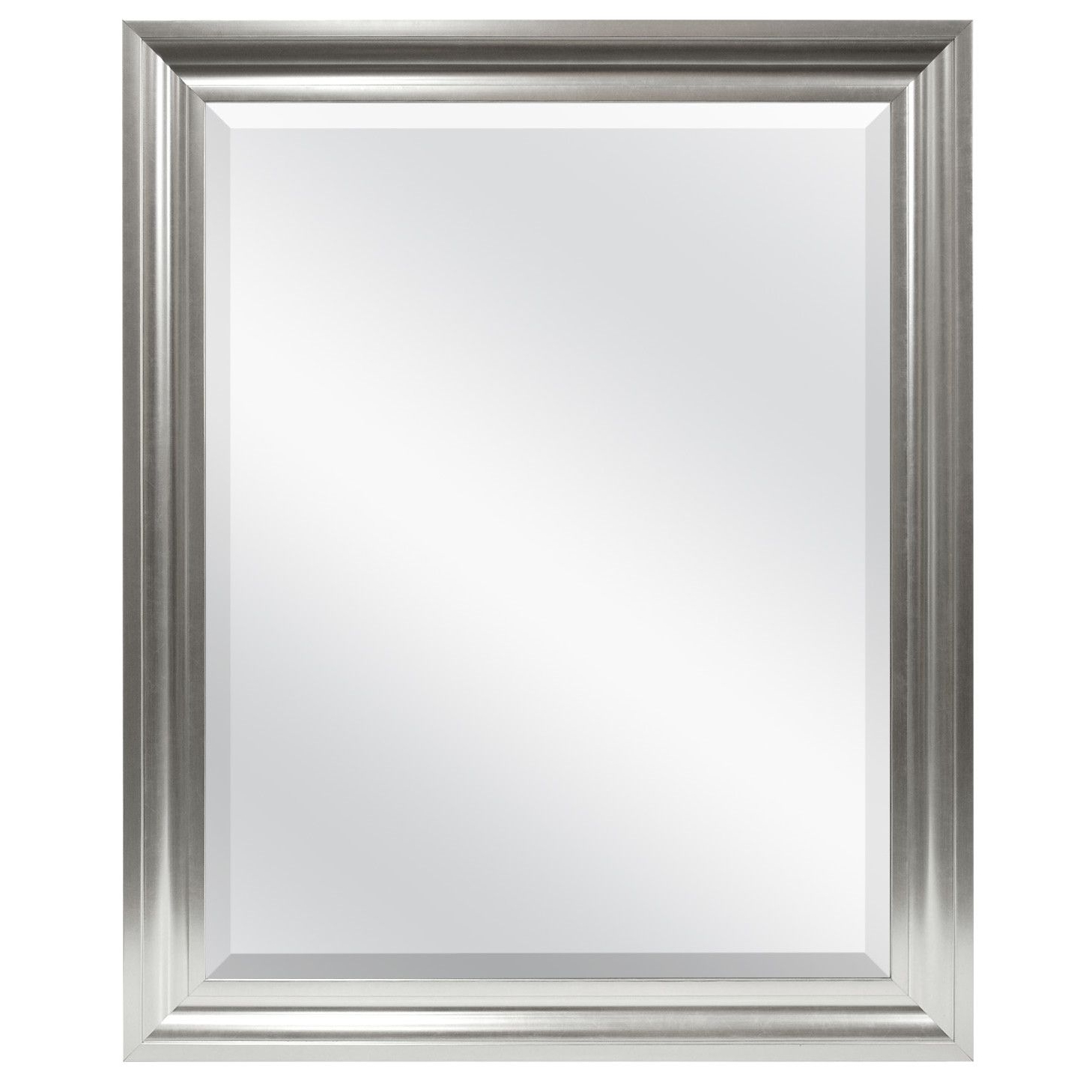 Rectangle Plastic Beveled Wall Mirror (Gallery 9 of 20)
