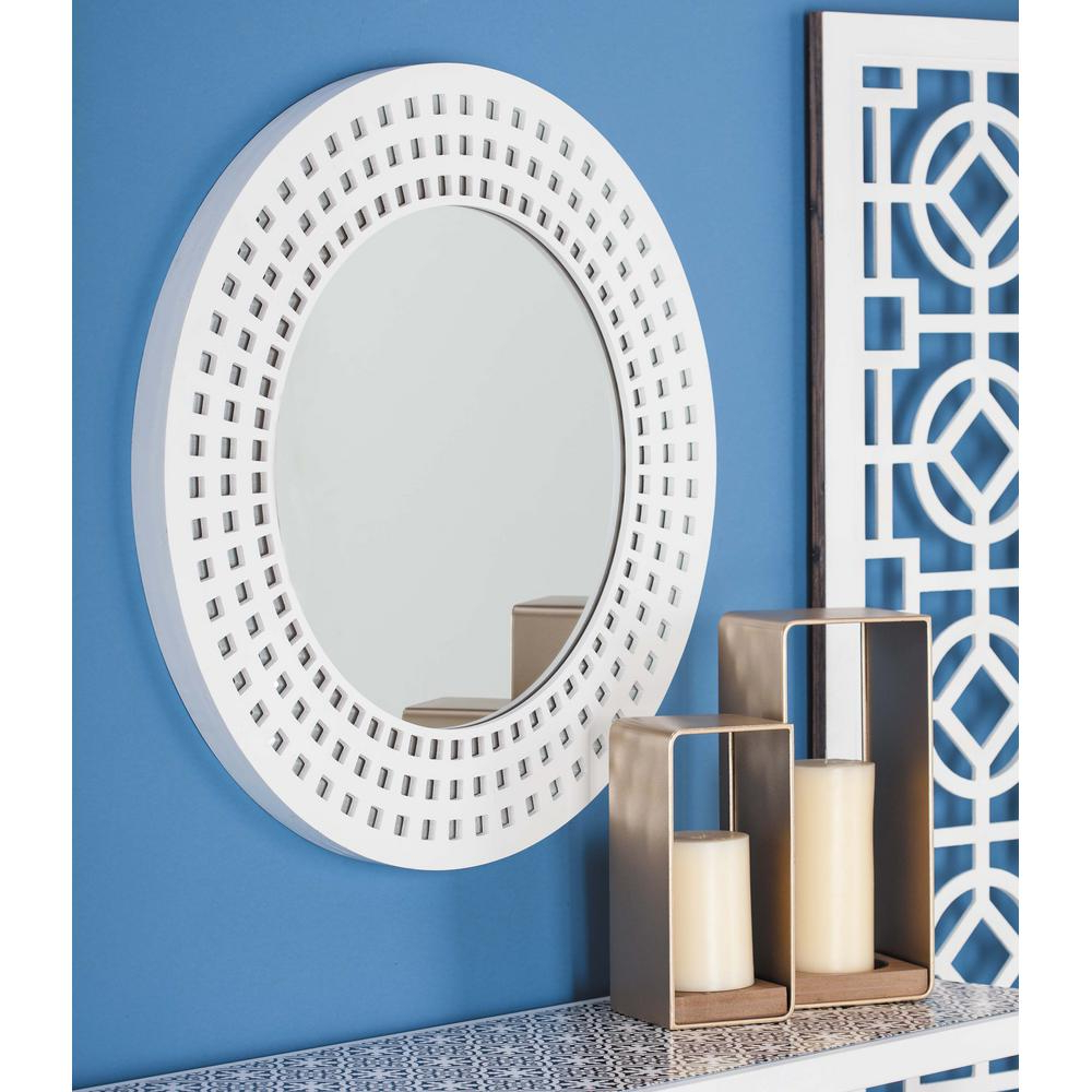 Red Framed Wall Mirrors With Popular 31 In (View 19 of 20)