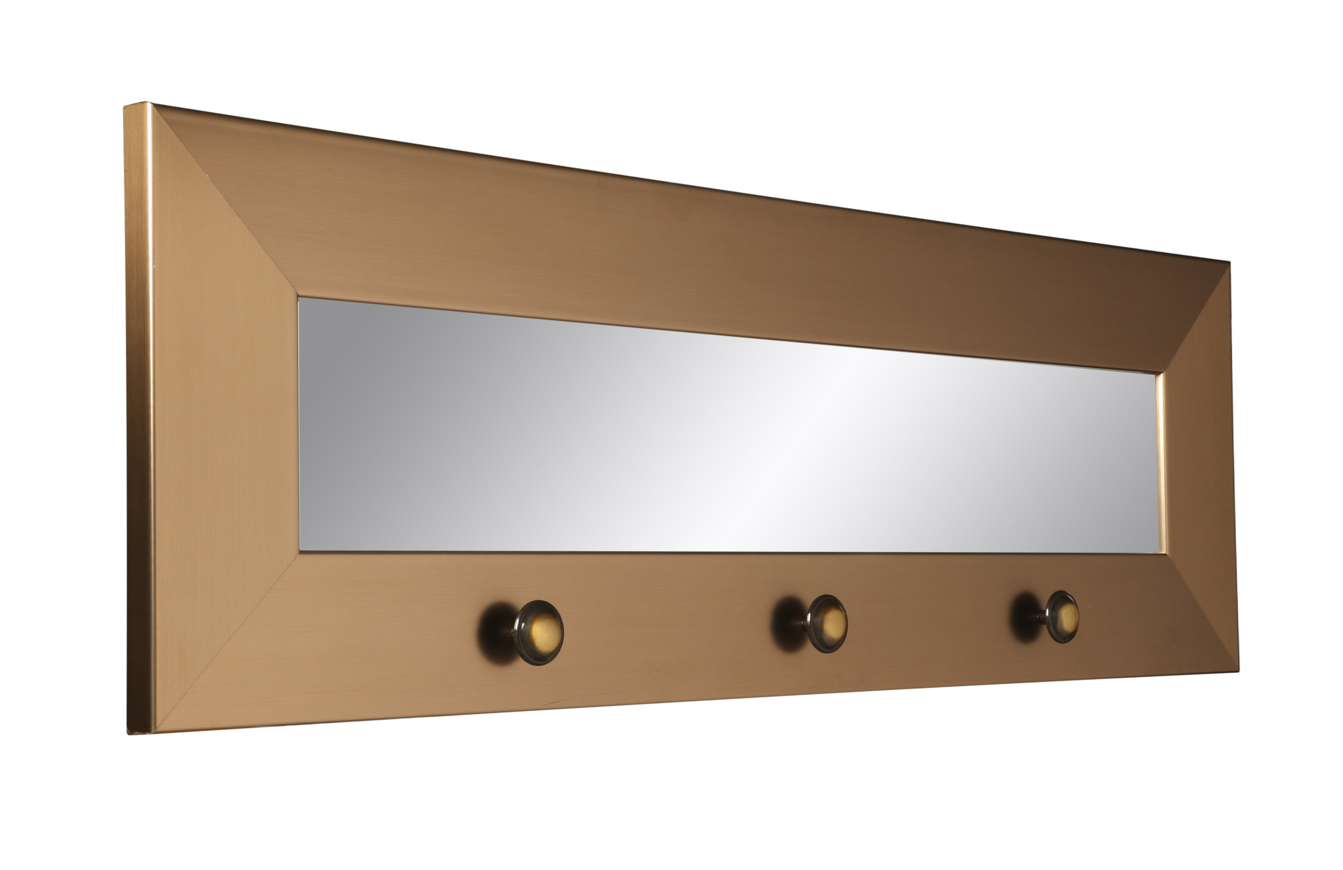 Rena Accent Mirrors Inside Most Recently Released Zavier Hook Board Accent Mirror (View 14 of 20)
