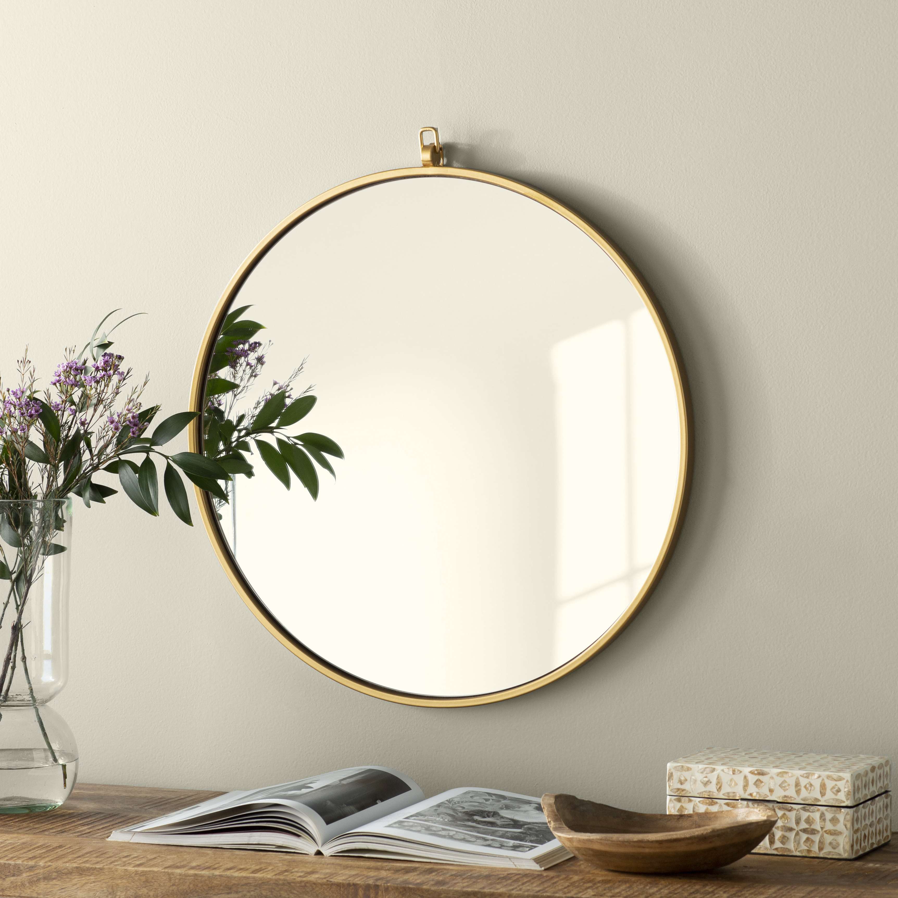 Rhein Accent Mirrors Pertaining To Famous Joss & Main Essentials Accent Mirror (View 6 of 20)