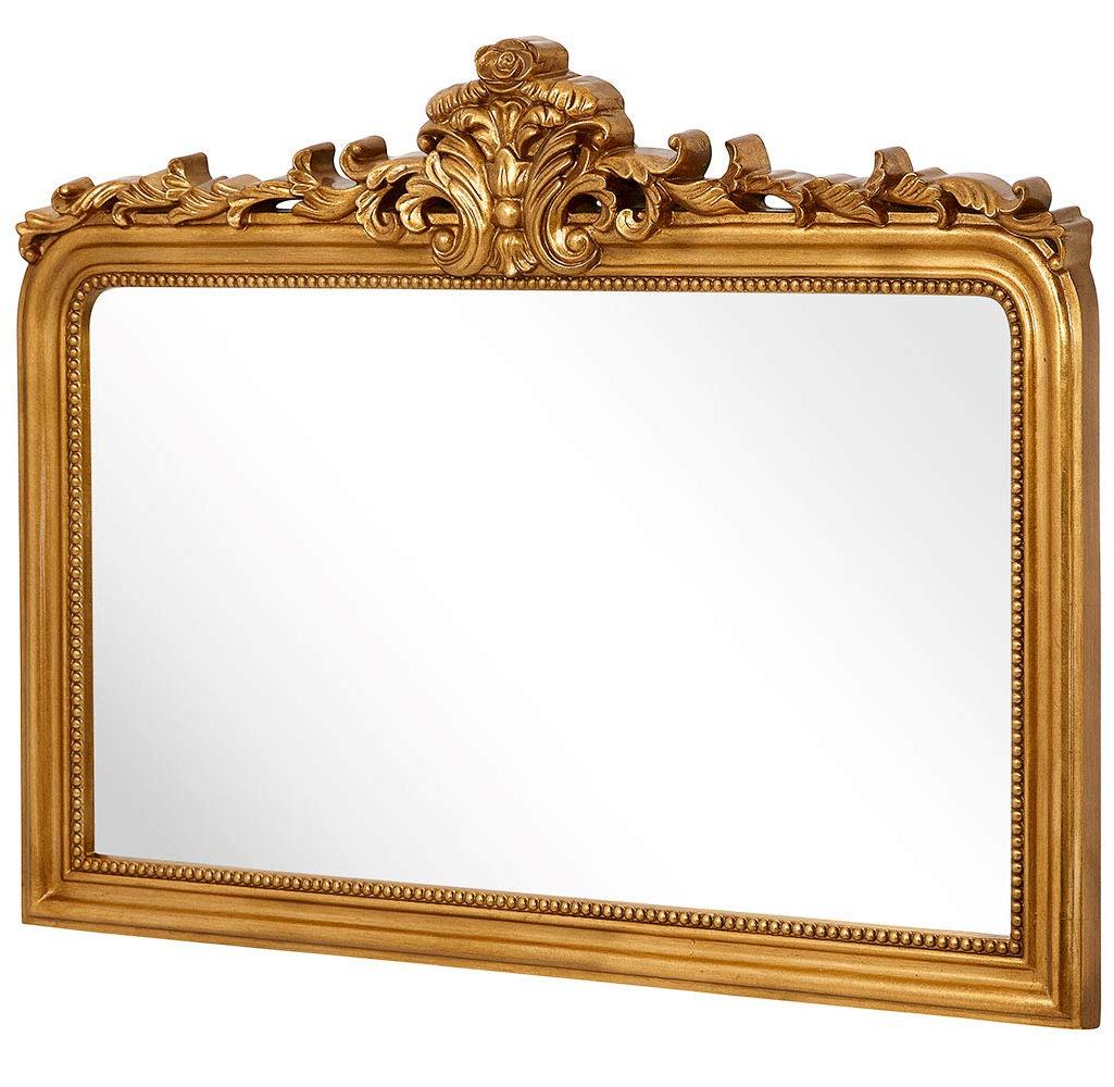 Rich Old World Feel Framed Beveled Elegant Glass Mirror (Gallery 9 of 20)