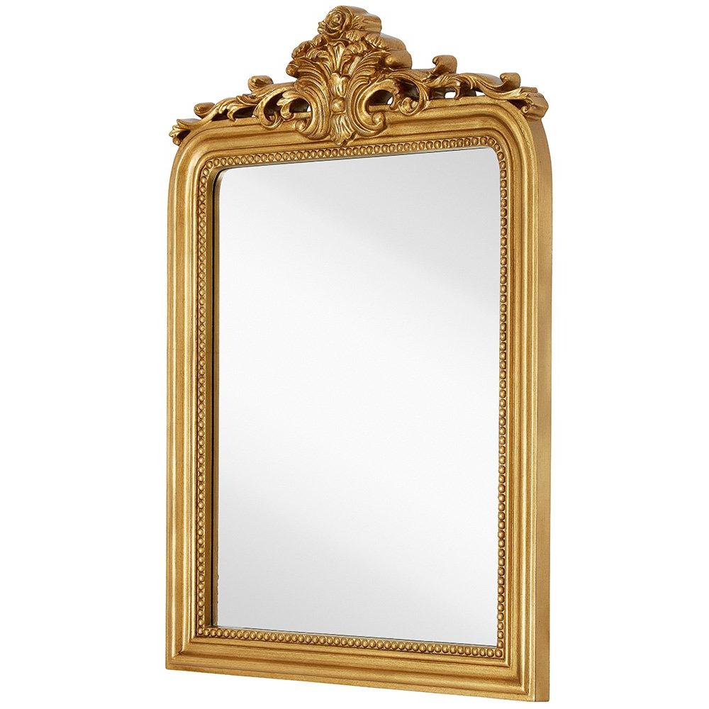 Rich Old World Feel Framed  Beveled Elegant Glass Mirror (View 5 of 20)