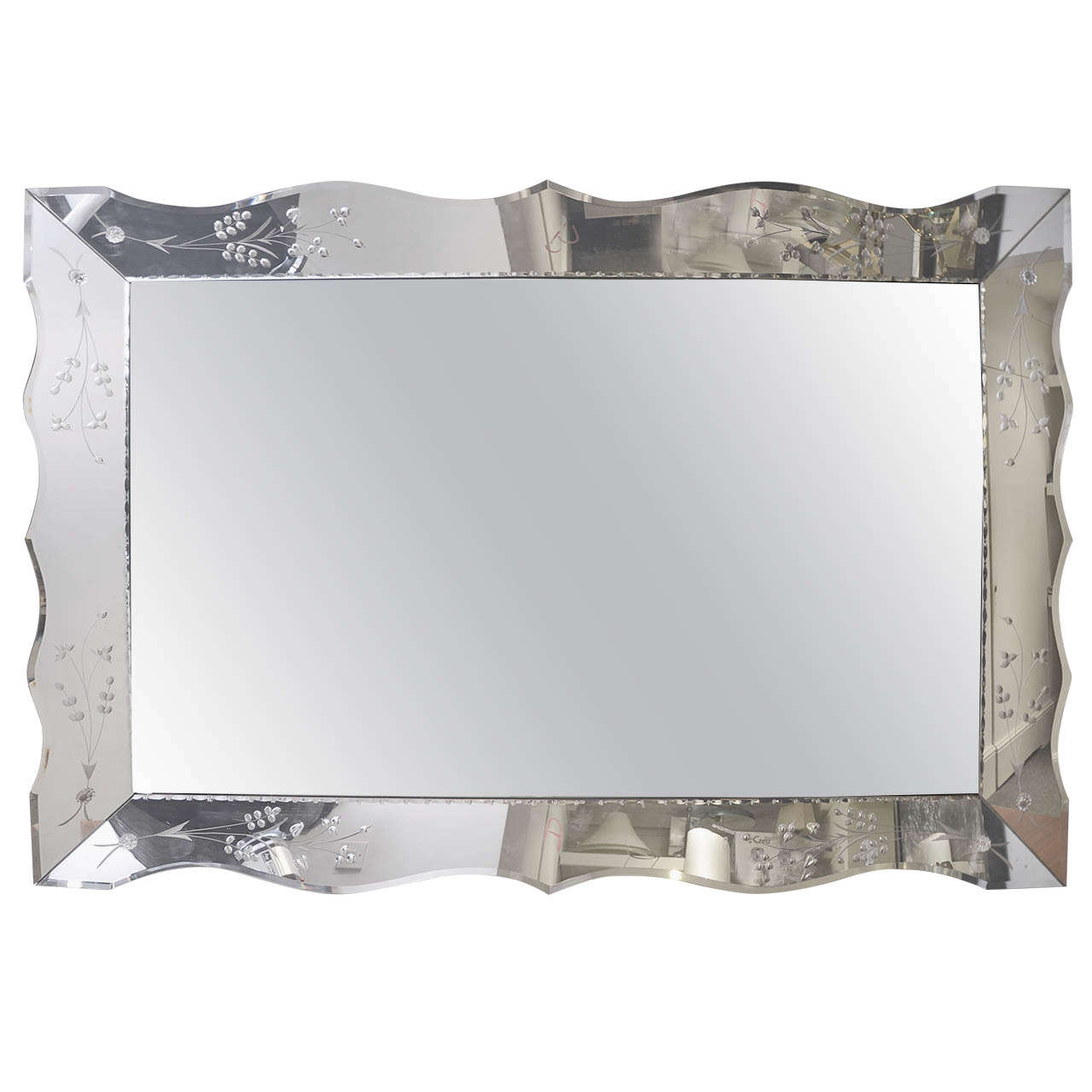 Rita's Within Etched Wall Mirrors (Gallery 1 of 20)