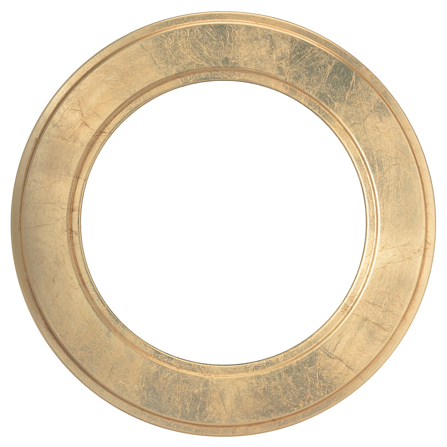 Round Beveled Wall Mirror For Home Decor – Montreal Style – Gold Leaf –  23X23 Outside Dimensions Intended For Most Up To Date Round Beveled Wall Mirrors (Gallery 2 of 20)
