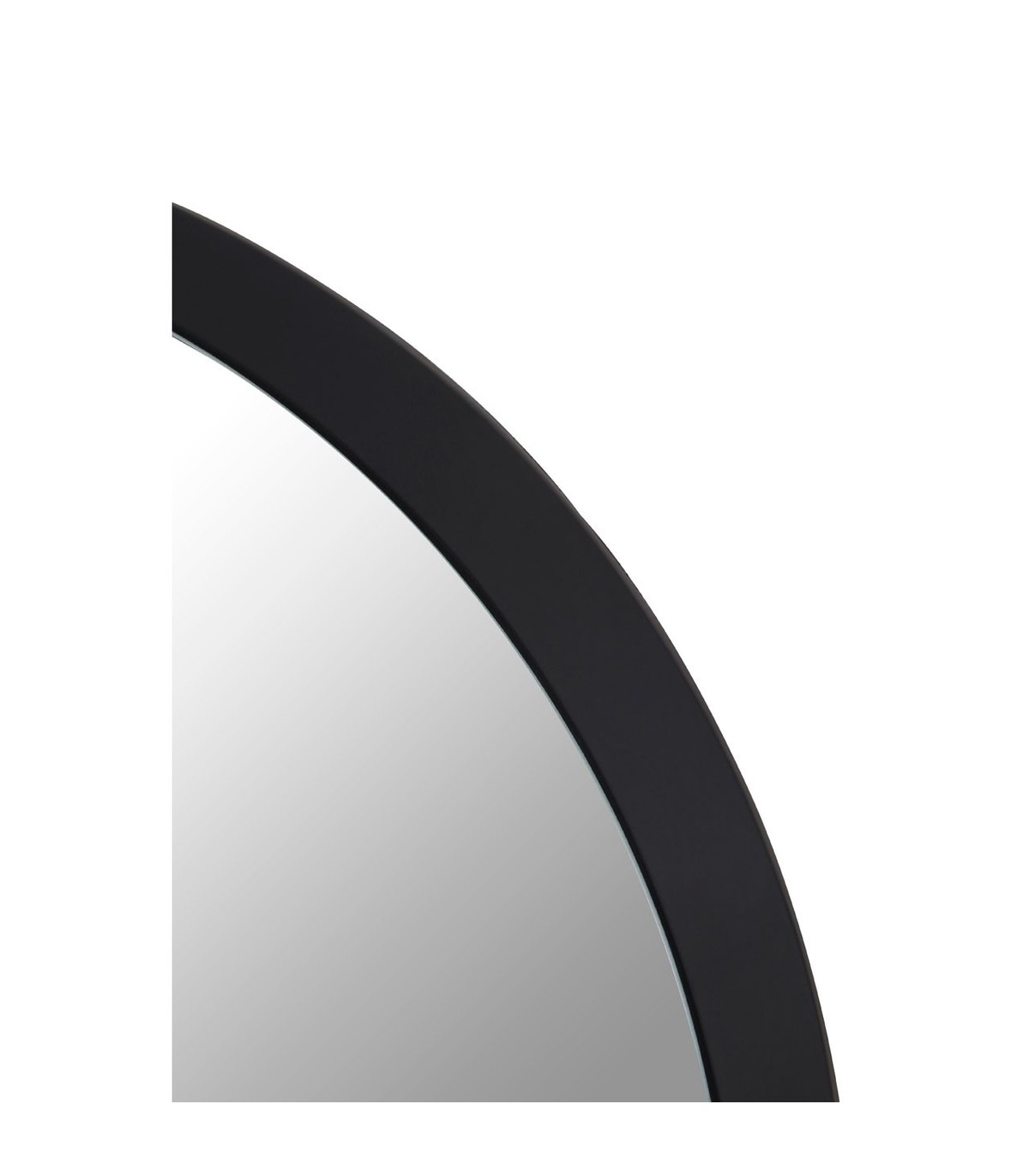 Round Black Wall Mirrors Pertaining To Well Known Large Round Black Wall Mirror (View 16 of 20)