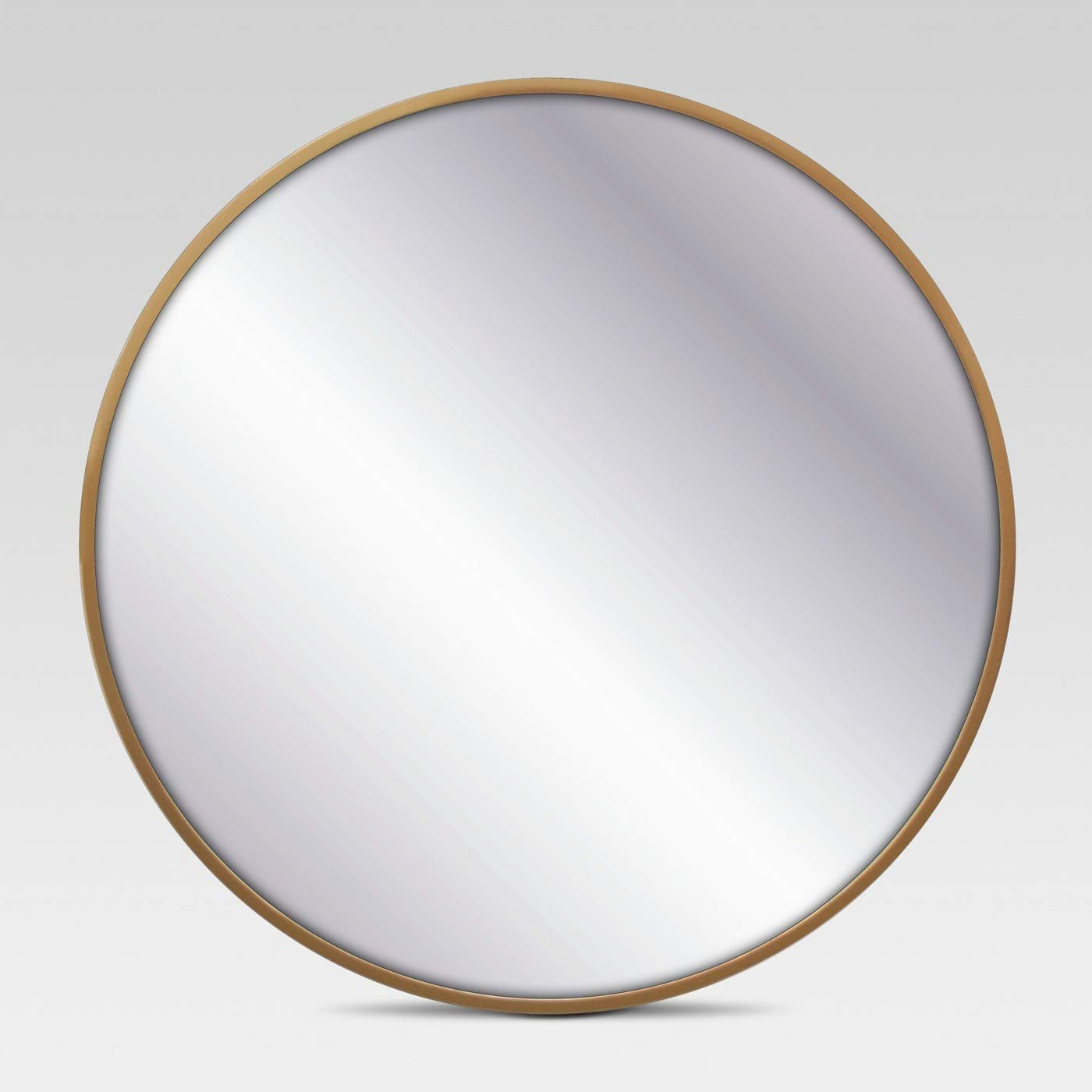 """Round Decorative Wall Mirrors Within Well Liked Project 62™ Round Decorative Wall Mirror (brass, 18"""") (View 14 of 20)"""