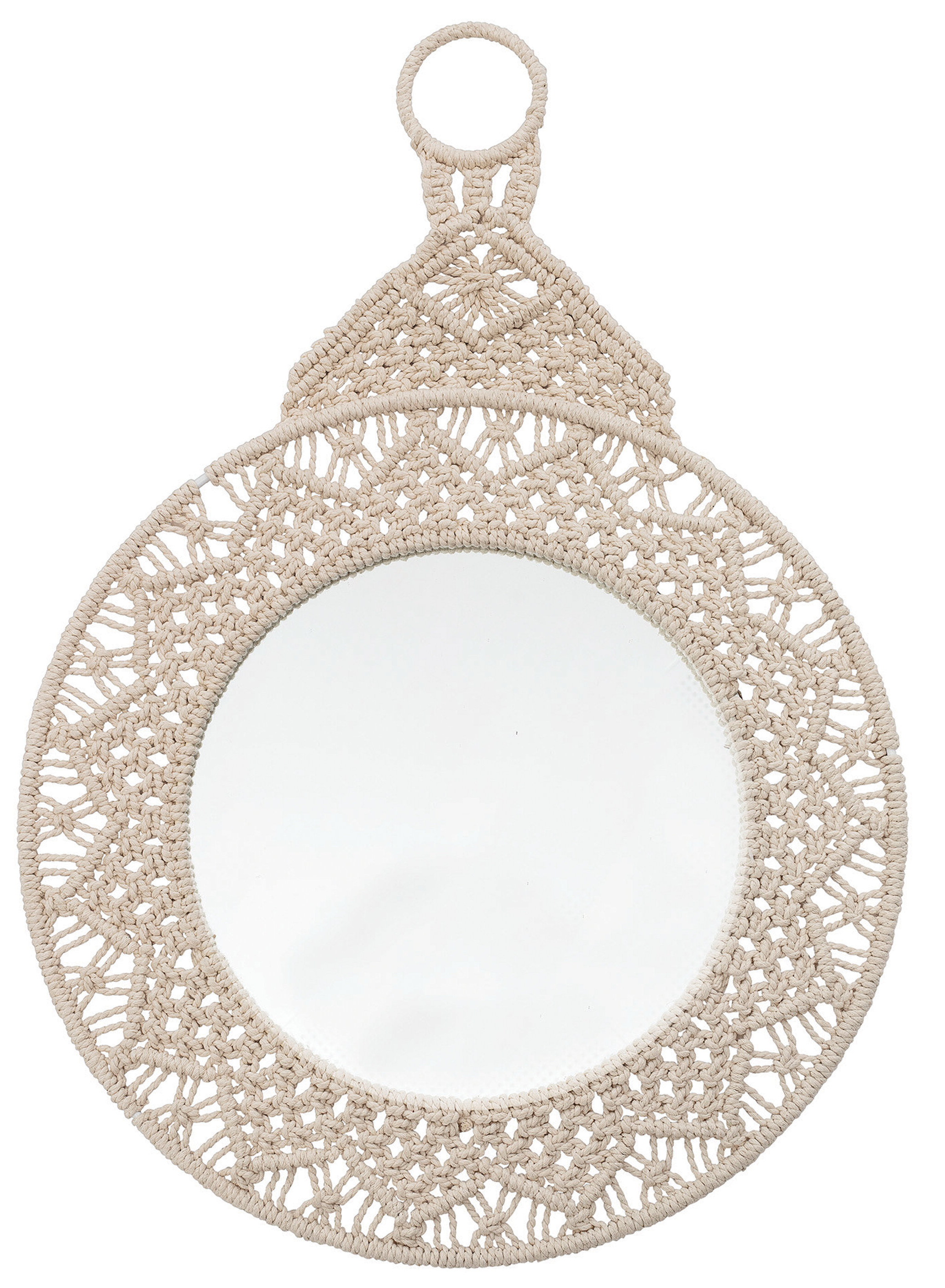 Round Eclectic Accent Mirrors With Regard To Fashionable Crewellwalk Eclectic Accent Mirror (Gallery 9 of 20)