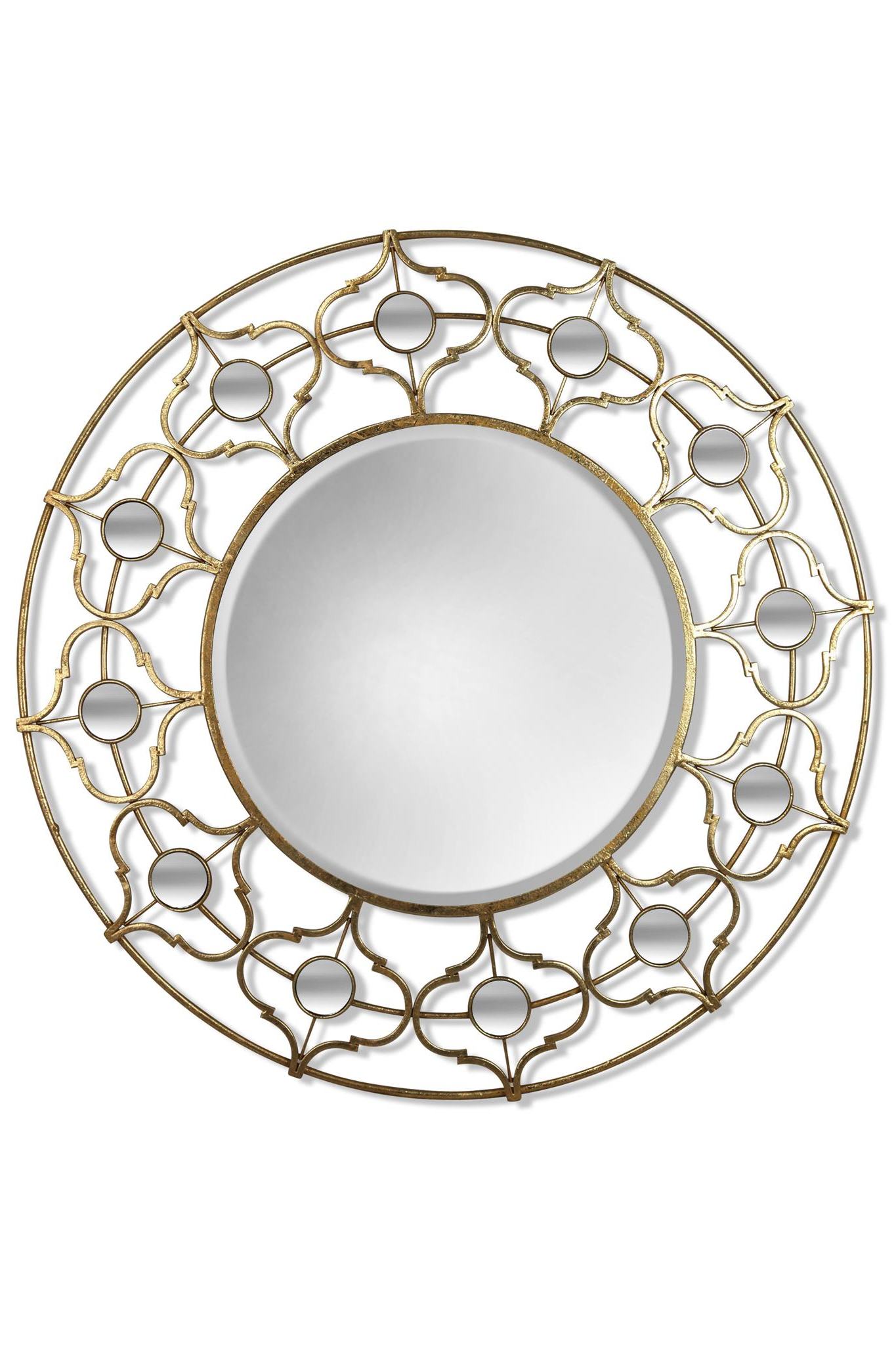 Round Metal Wall Mirror For 2020 Round Metal Wall Mirrors (View 11 of 20)