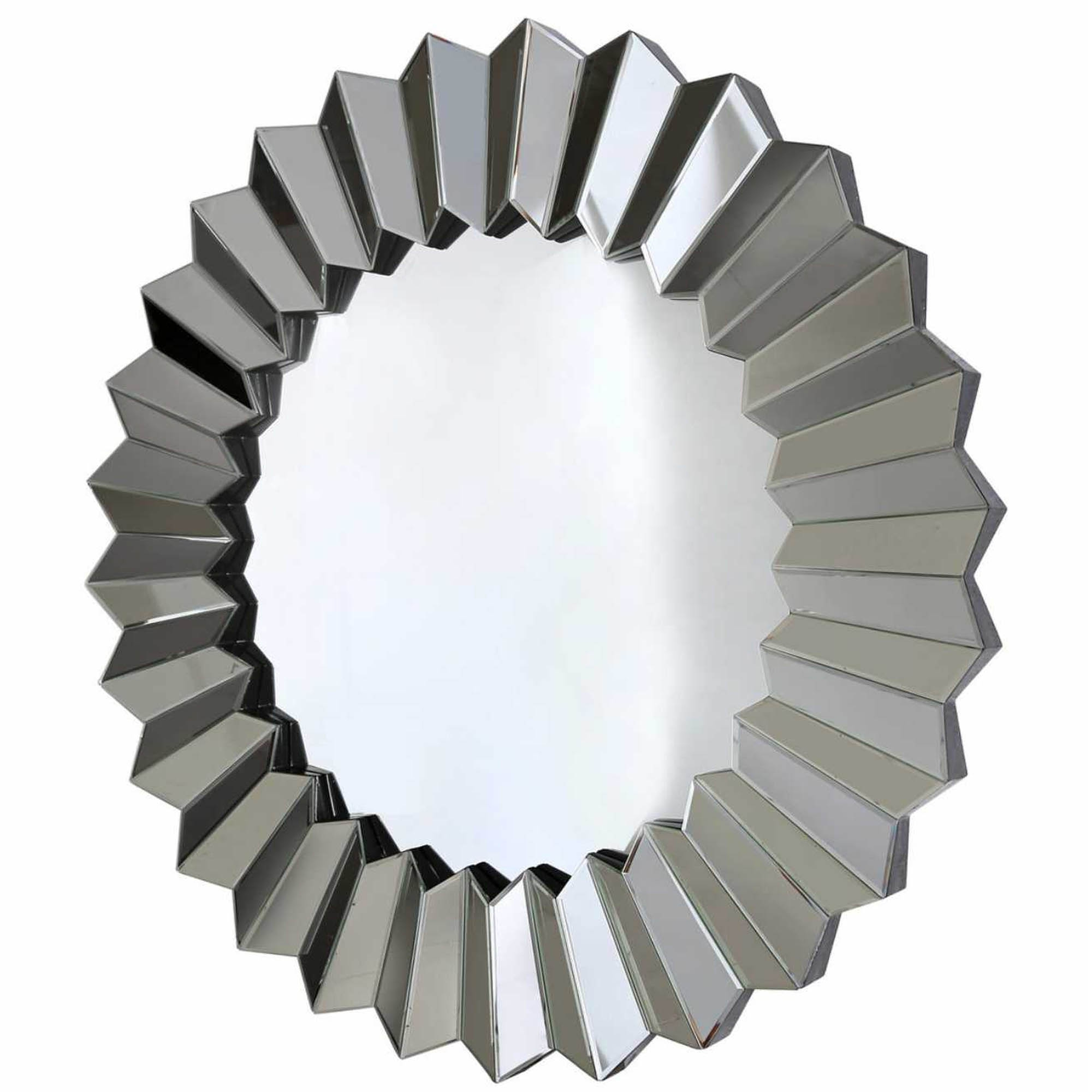 Round Silver Wall Mirrors Inside Well Known Round Silver Wall Mirror (View 12 of 20)