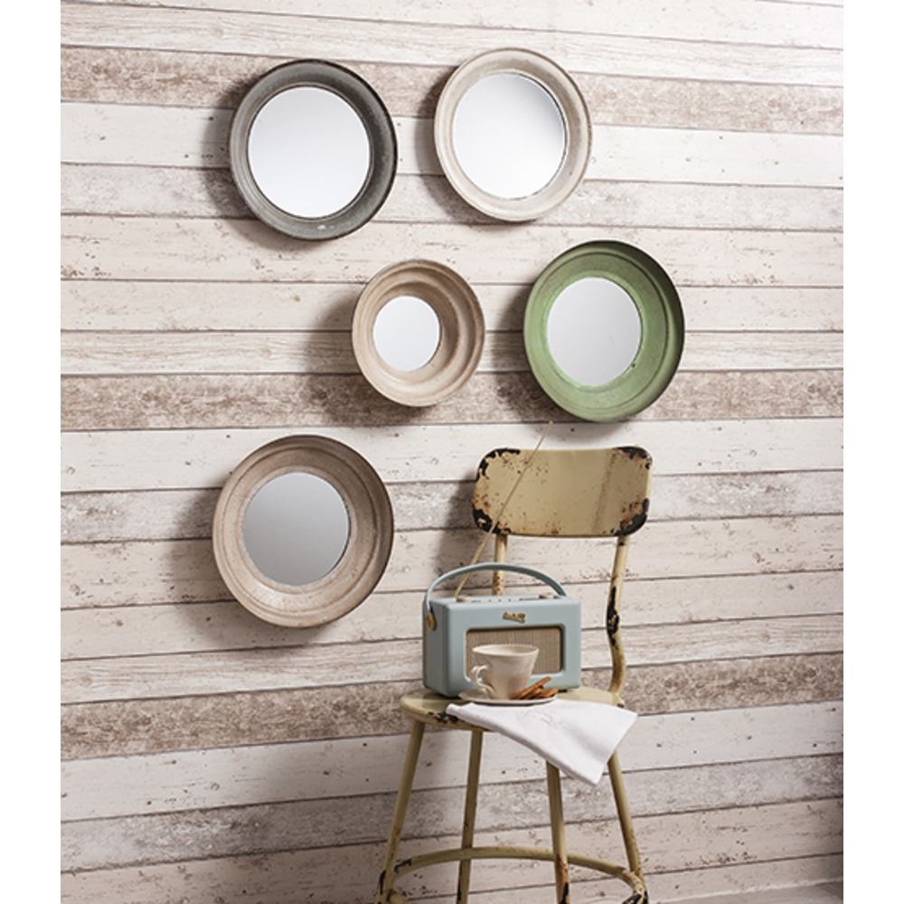 Round Wall Mirror Sets With Regard To Latest Crosby Metal Framed Mirrors Set Of (View 15 of 20)