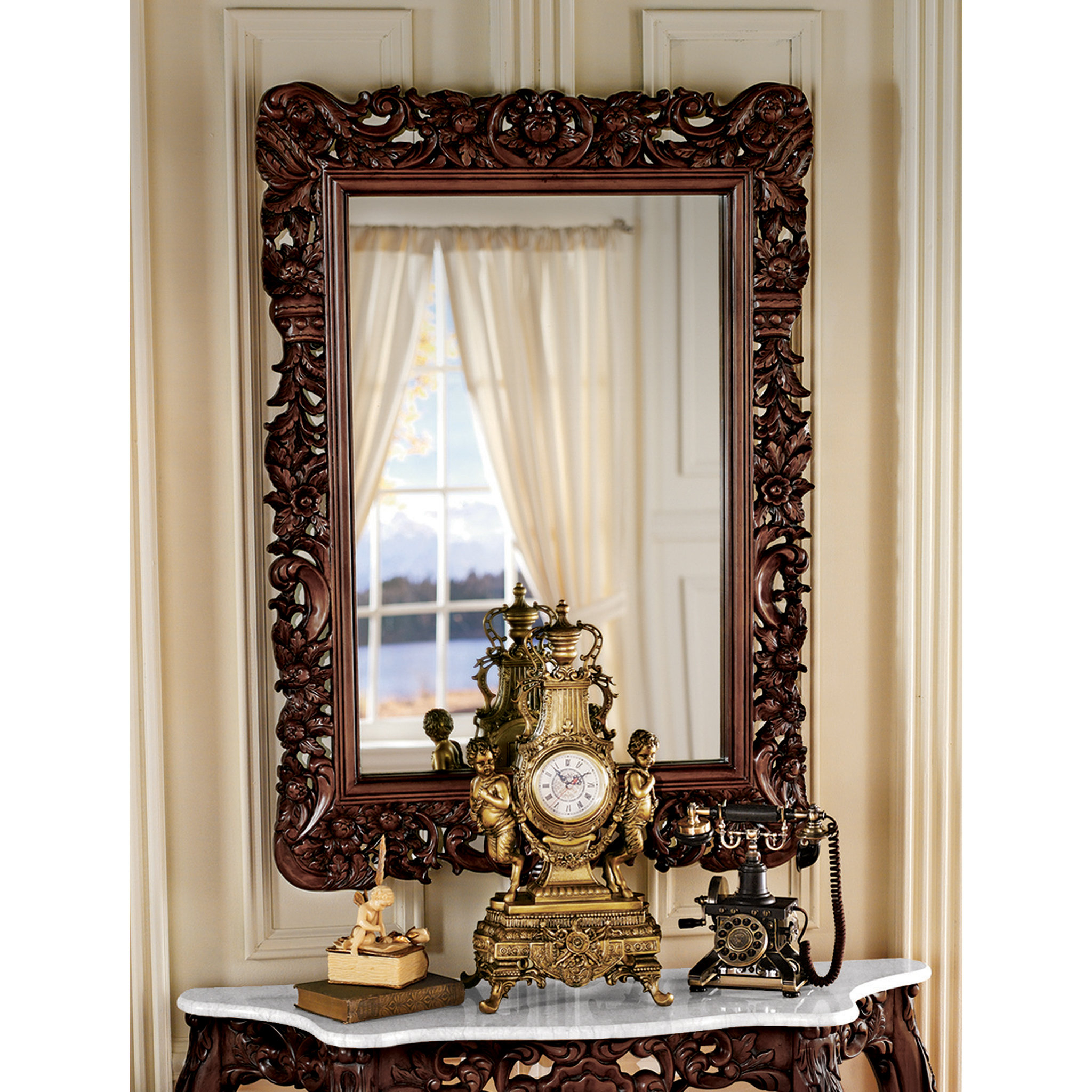 Royal Baroque Wall Mirror Pertaining To Latest Baroque Wall Mirrors (Gallery 15 of 20)