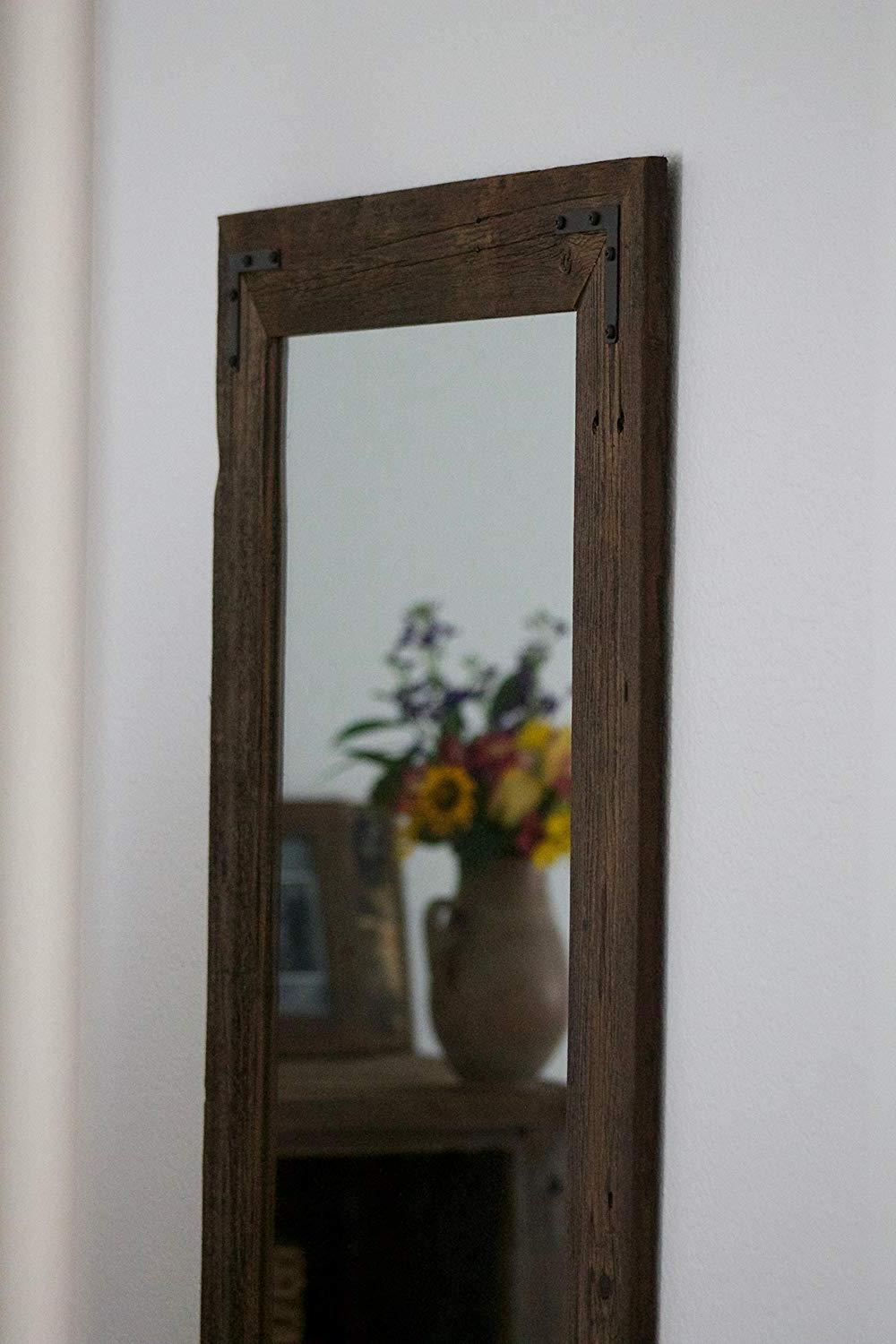 Rustic Wall Mirrors Intended For Most Current Rustic Wall Mirror – Large Wall Mirror – 24 X 36 Vanity Mirror – Bathroom  Mirror – Rustic Mirror – Reclaimed Wood Mirror – Bathroom Vanity (Gallery 8 of 20)