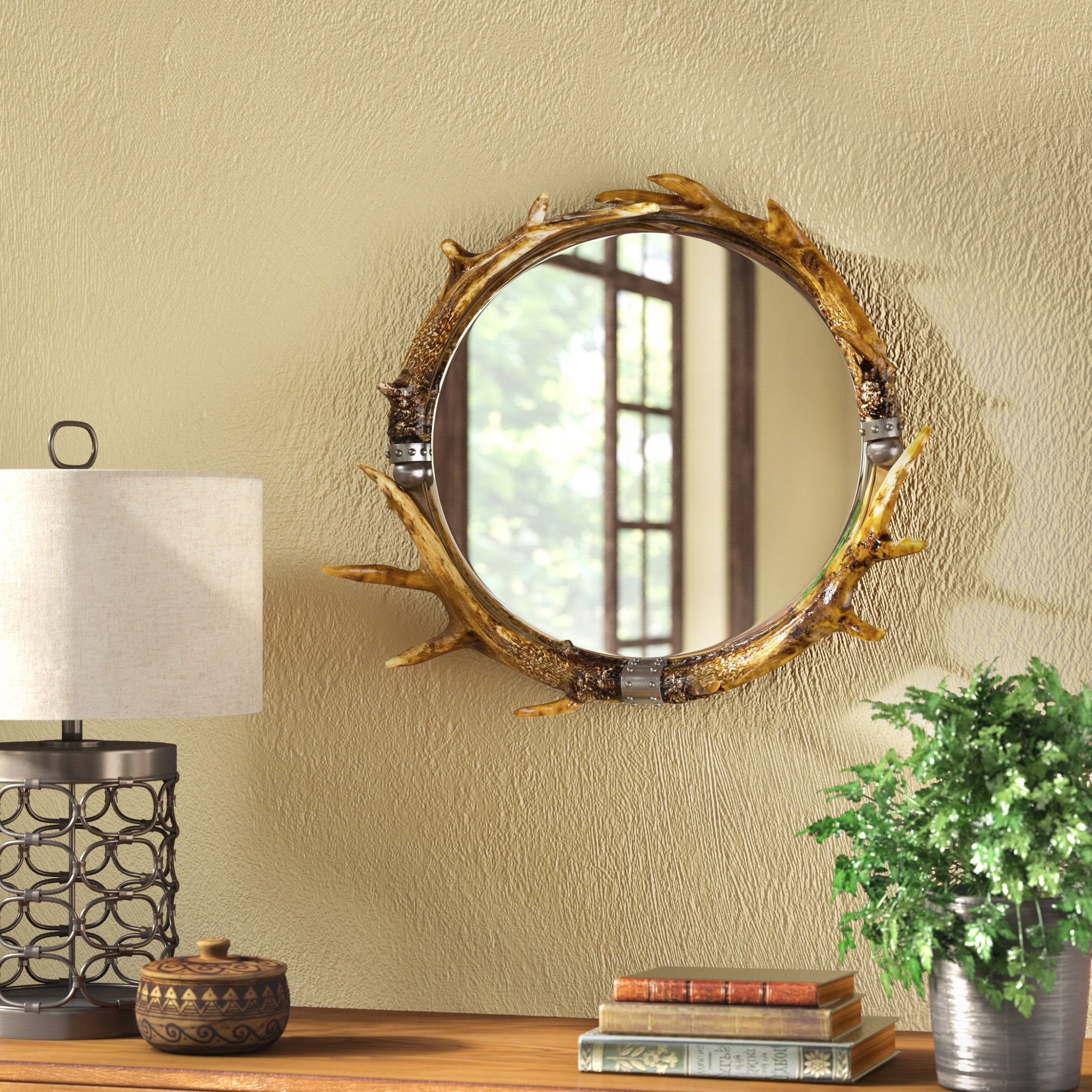Rustic Wall Mirrors With Newest Rustic Wall Mirror (Gallery 9 of 20)