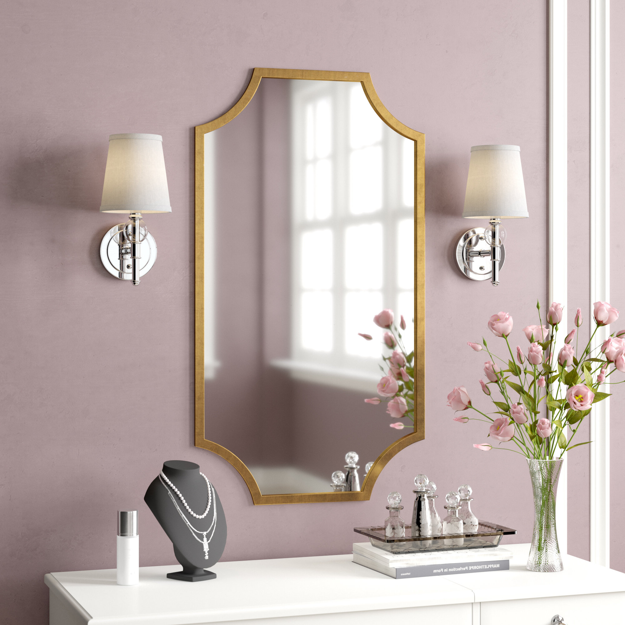 Schroeders Accent Mirror With 2019 Egor Accent Mirrors (View 16 of 20)