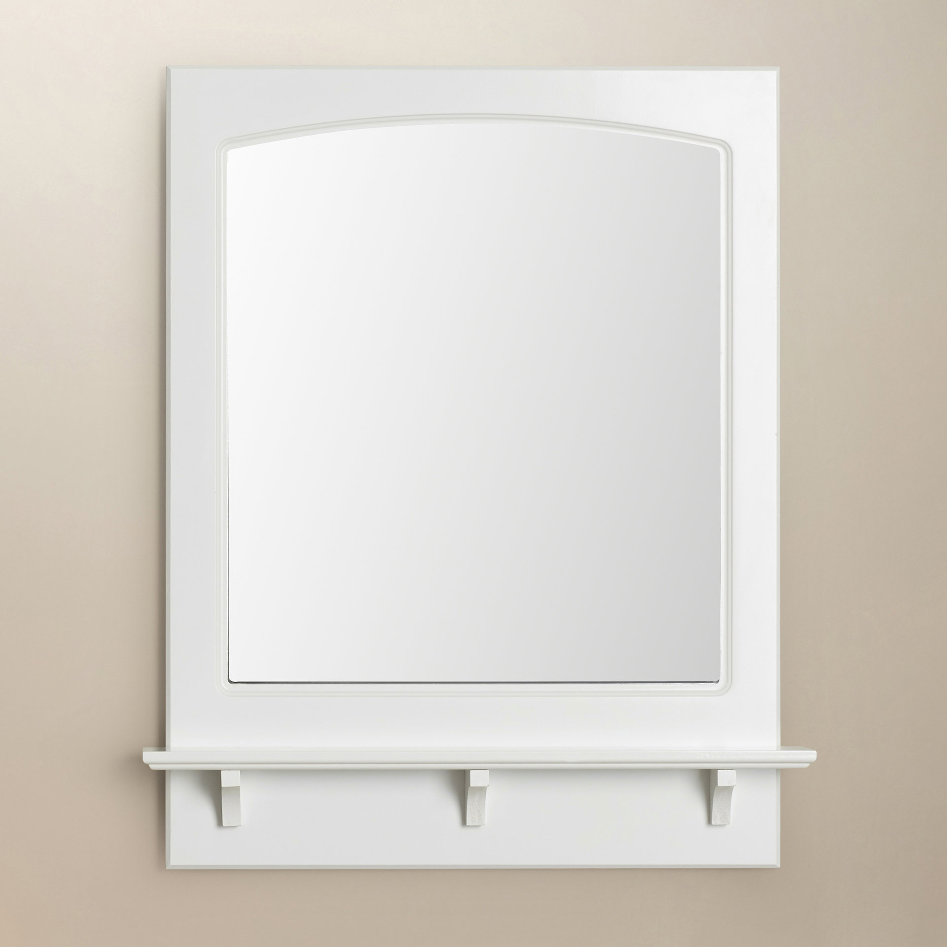 Searle Rectangle Accent Mirror Inside Latest Hallas Wall Organizer Mirrors (View 9 of 20)