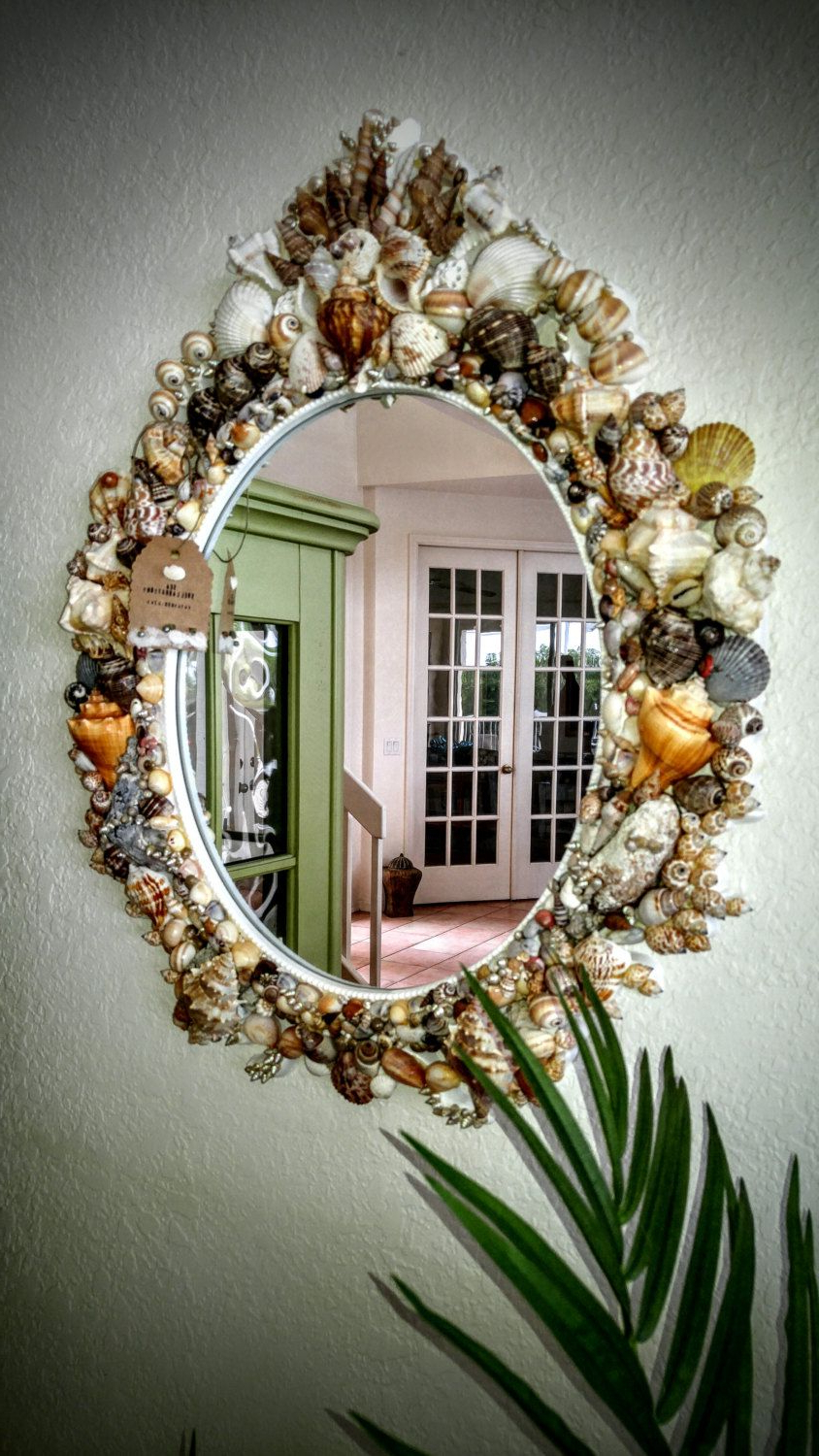 Seashell Wall Mirrors With Most Recently Released Large Seashell Wall Mirror (View 15 of 20)