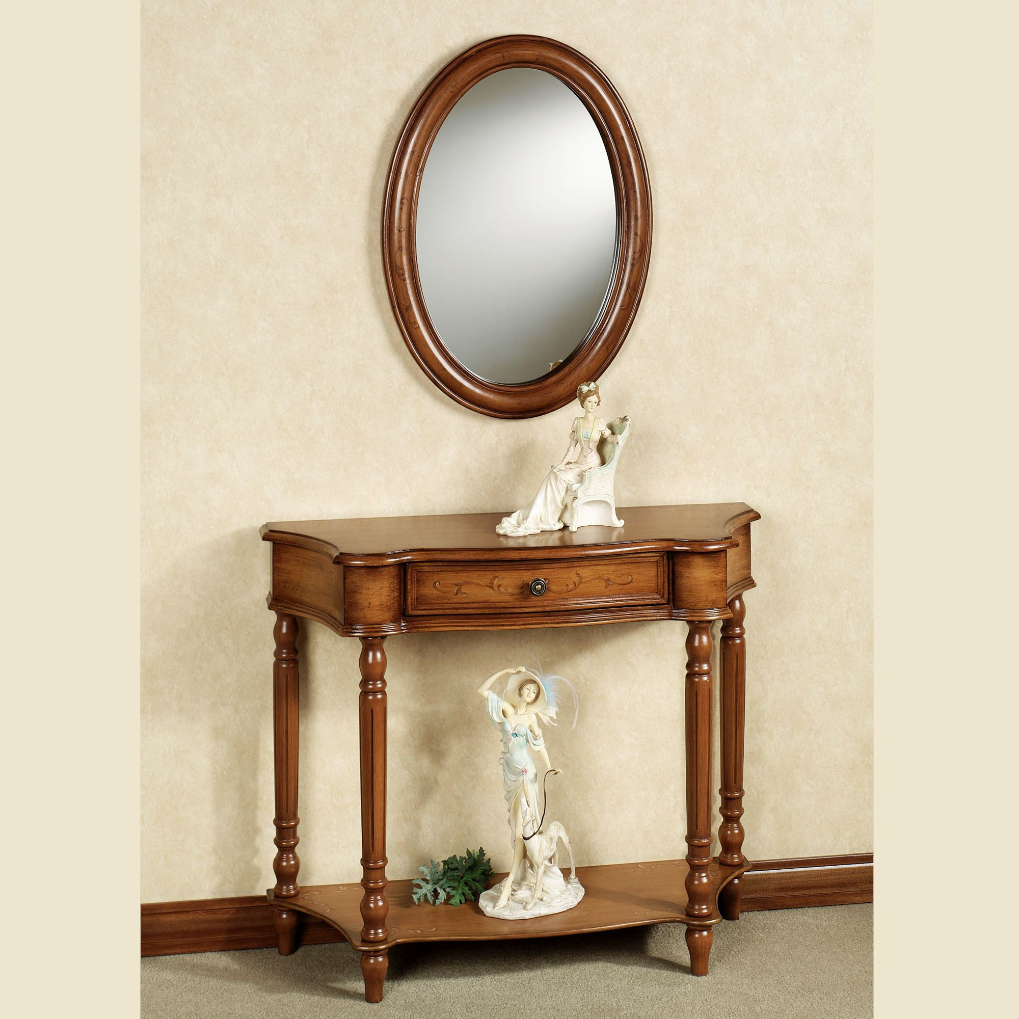 Set Of Wall Mirrors Within Favorite Amber Manor Console Table And Mirror Set (View 9 of 20)