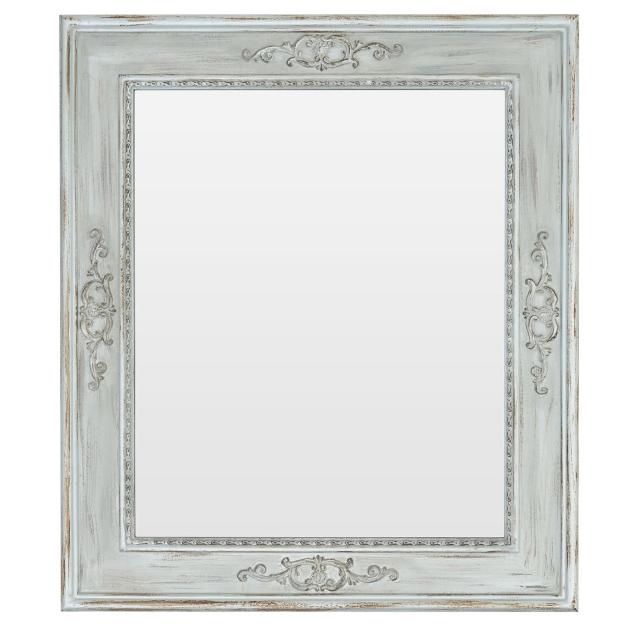 Shabby Chic Wall Mirrors In Newest Shabby Chic Sunny Wall Mirror (View 15 of 20)