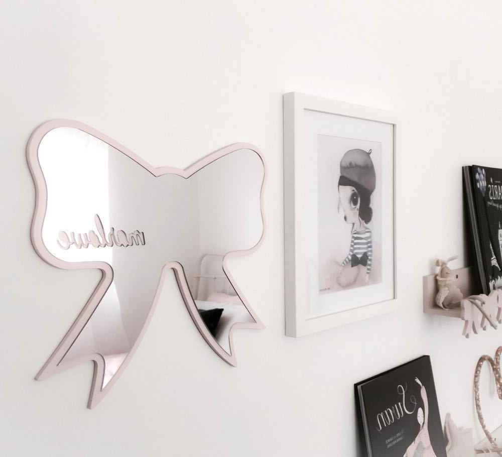 Shatterproof Wall Mirrors Inside Famous 2019 Kid Bedroom Nursery Decoration Shatterproof Acrylic Mirror Batman Crown Heart Rabbit Cloud Garden Wall Art Decor Mirror (View 14 of 20)