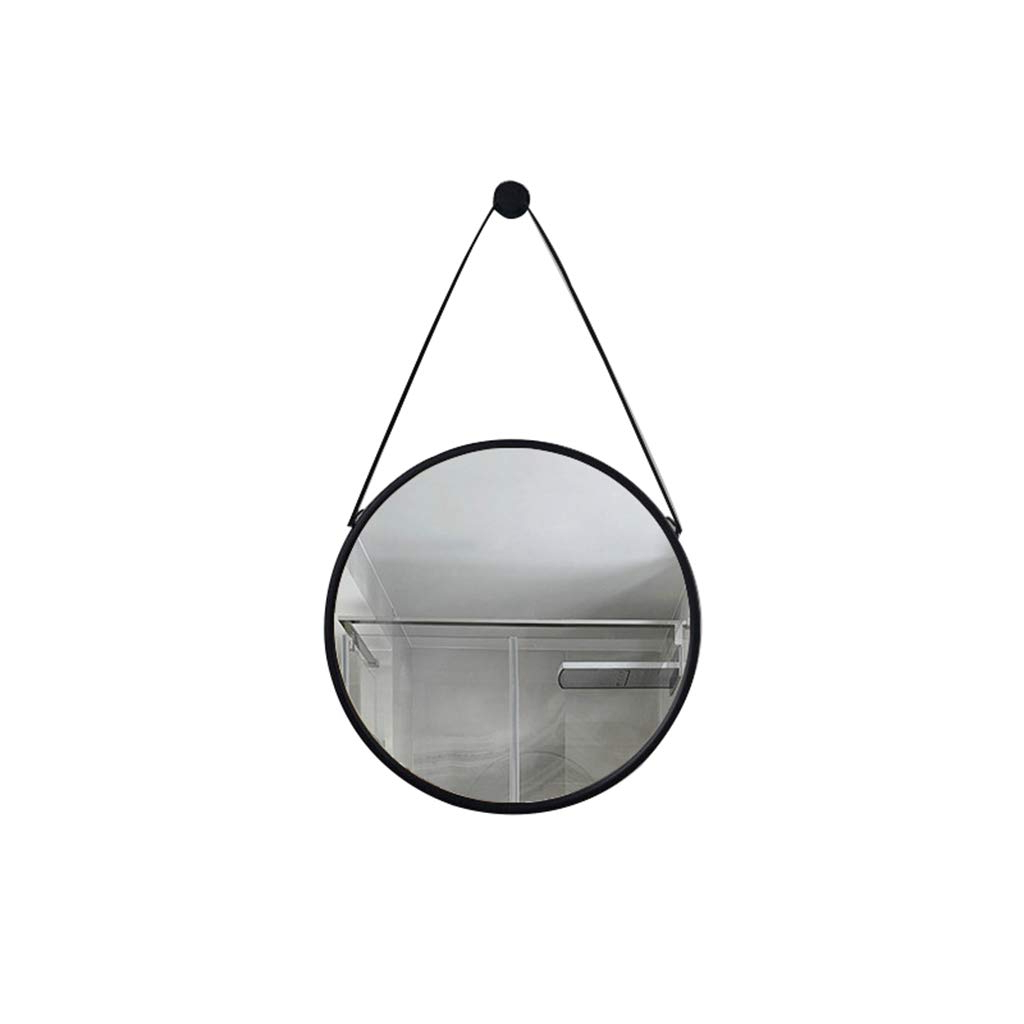Shatterproof Wall Mirrors Regarding Preferred Amazon: Wall Mirror Round Diameter40/50/60/70Cm Backlit (View 12 of 20)